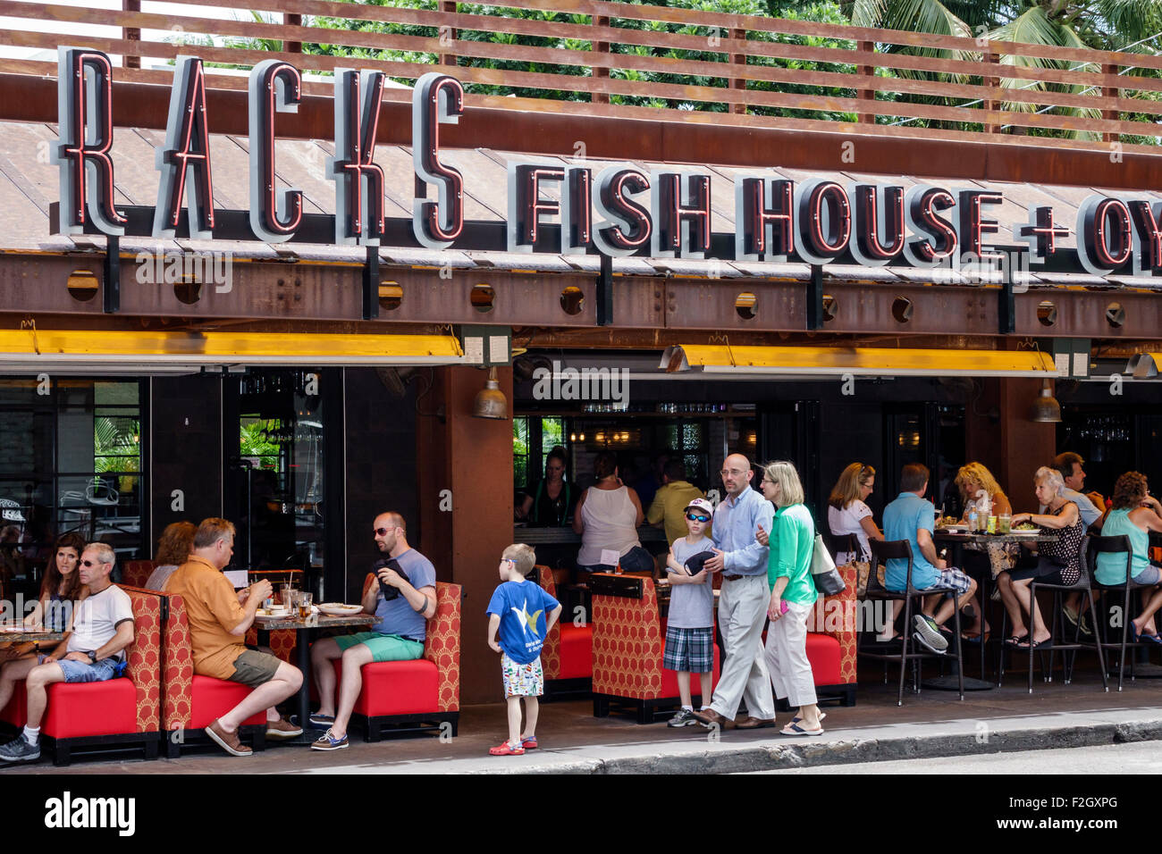 Florida delray beach east atlantic avenue racks fish house for Racks fish house