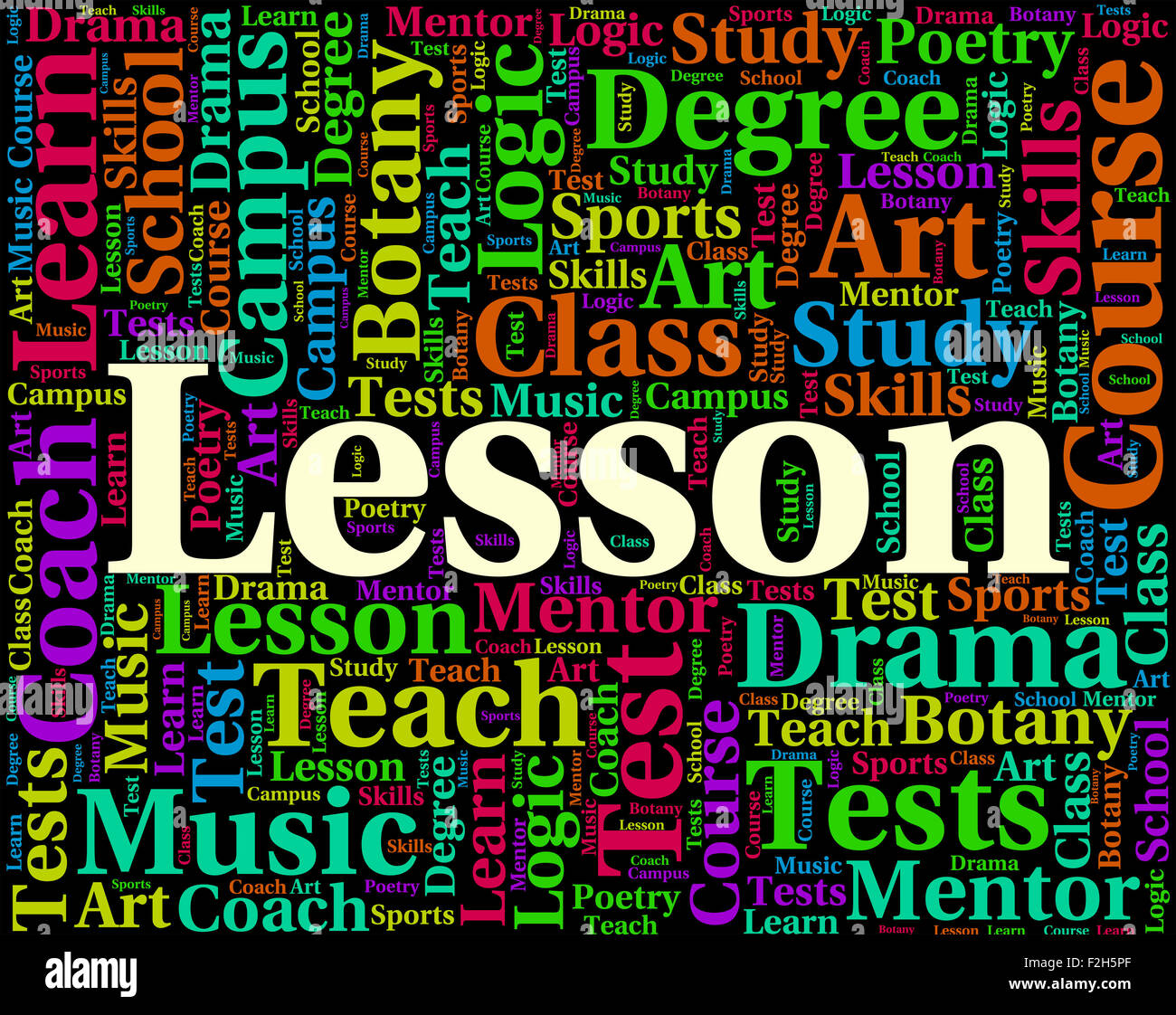 Modular Classroom Meaning ~ Lesson word meaning sessions lecture and classroom stock