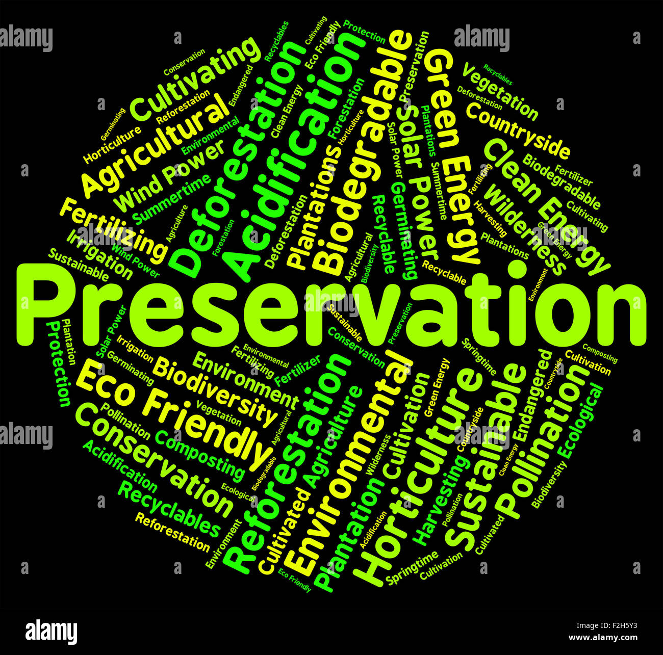 Environmental Conservation Meaning Conserving Stock Photos Preservation Word Meaning Earth Friendly And Environment FHY Environmental Conservation Meaning Conserving