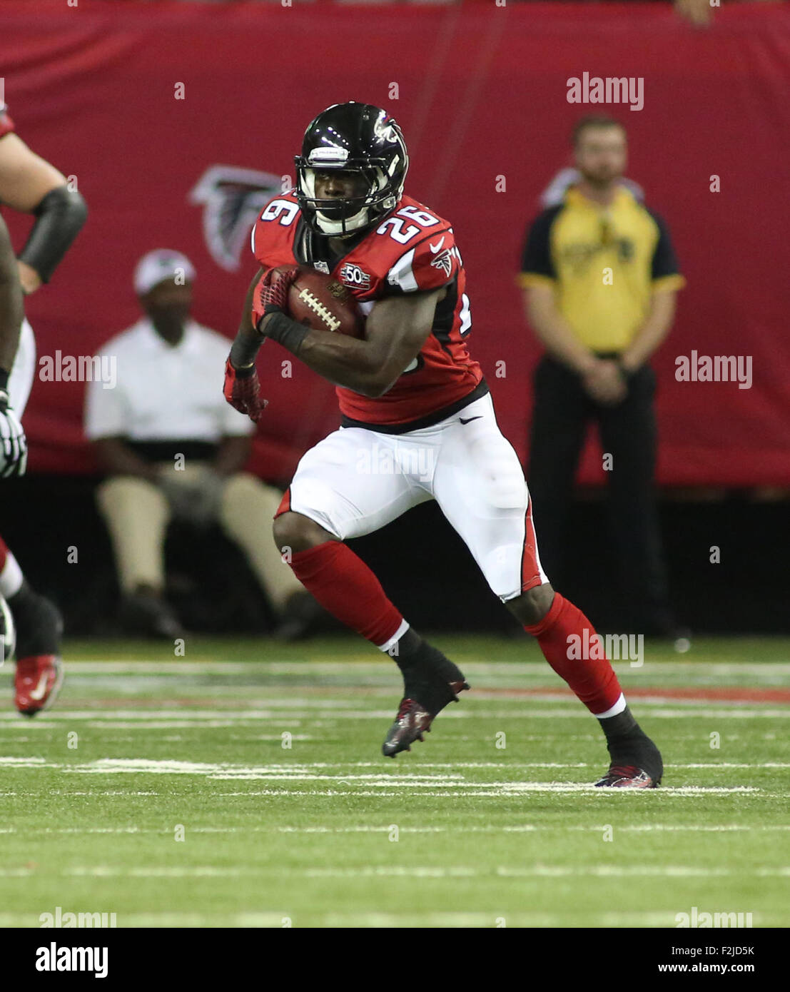 September 14 2015 26 Tevin Coleman of the Atlanta Falcons in