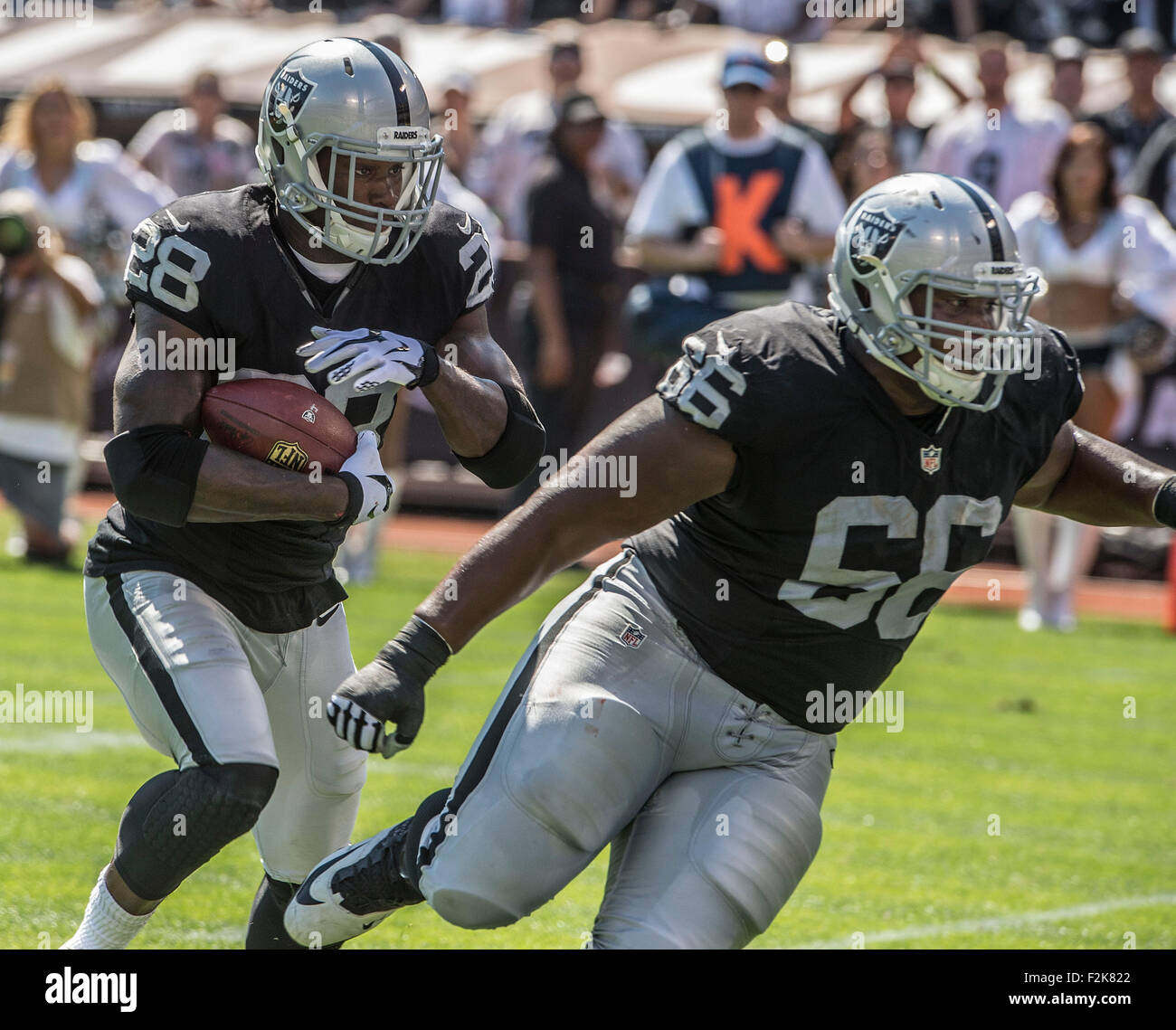 Oakland California USA 20th Sep 2015 Oakland Raiders guard