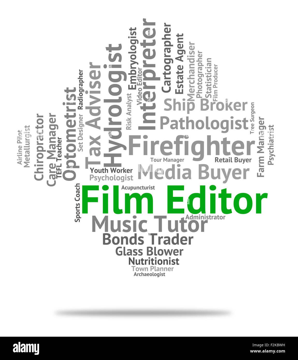 Words editor