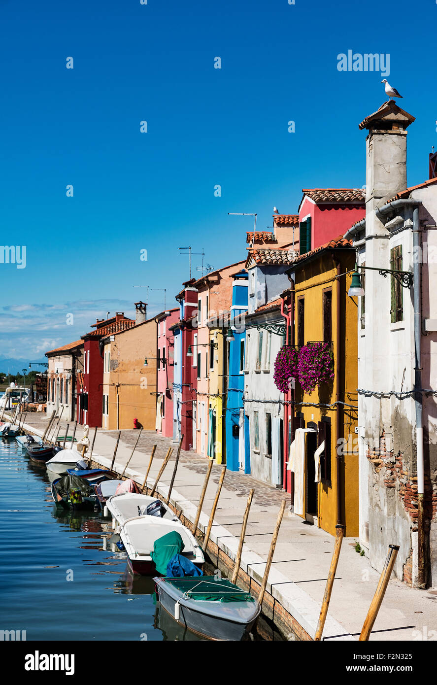 Colorful burano italy burano tourism - Colorful Home Facades In The Venetian Fishing Village Island Of Burano Italy