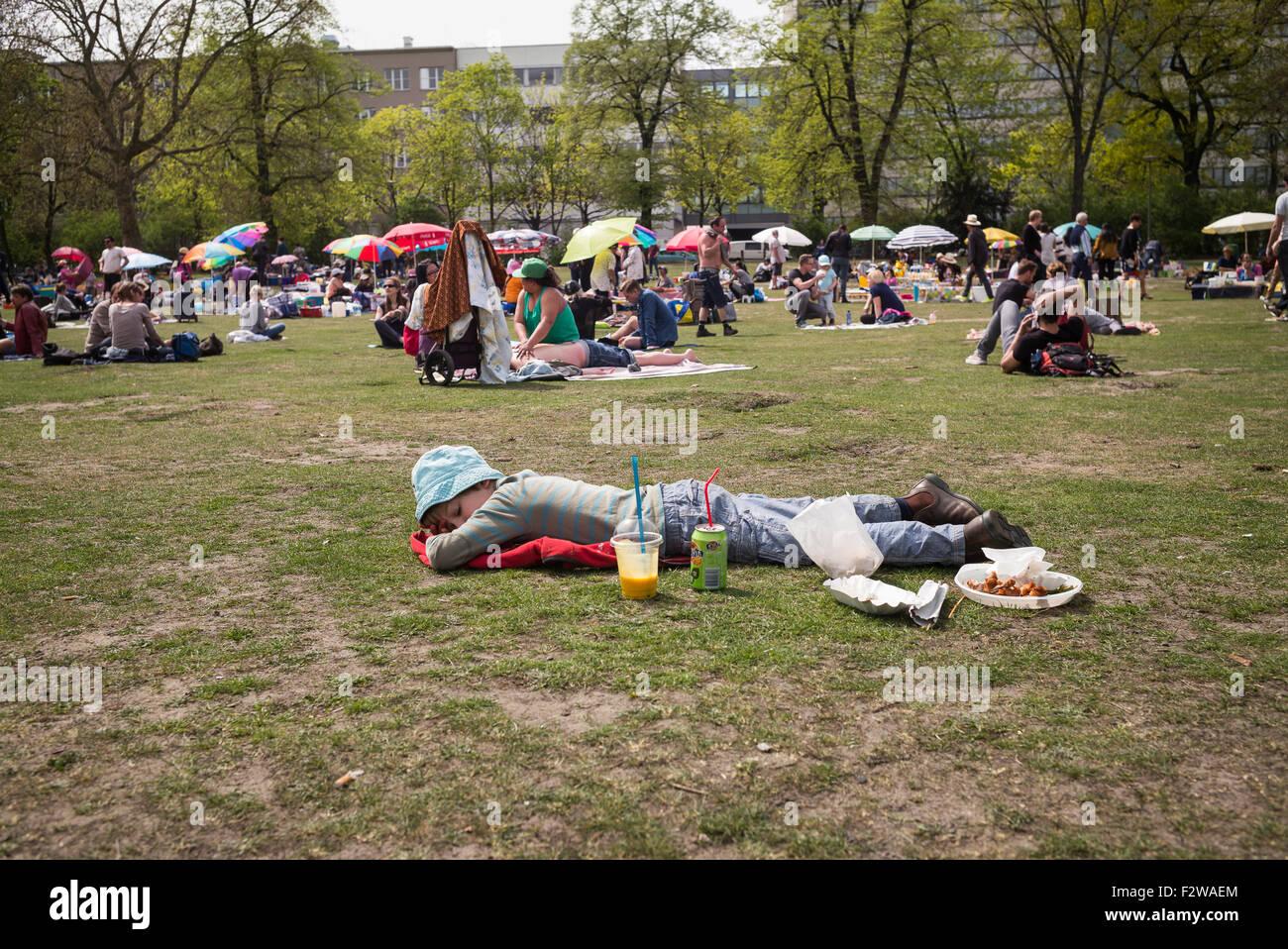 Preußenpark Berlin 24 04 2015 berlin berlin germany the preussen park in berlin