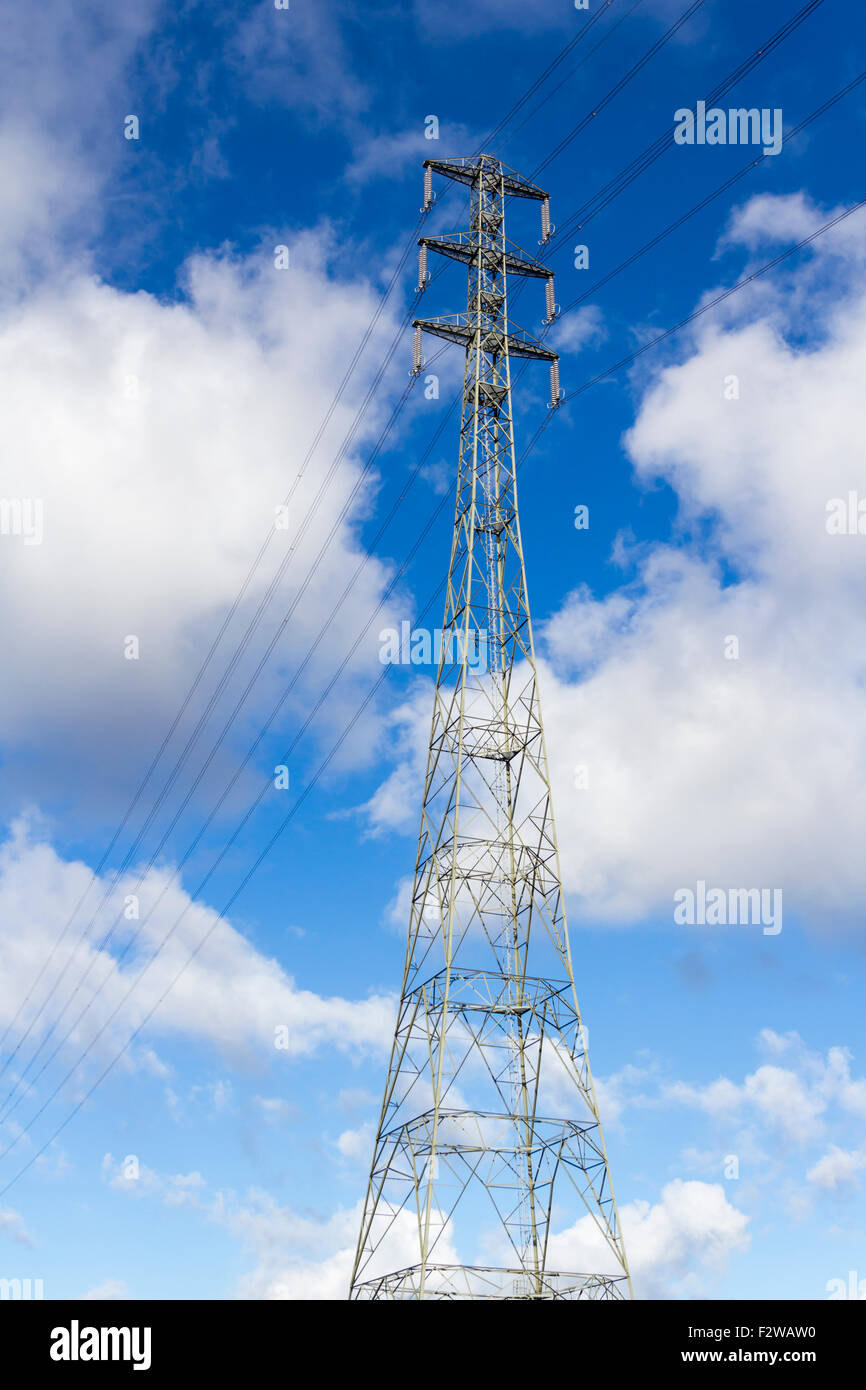 National grid uk stock photos national grid uk stock images alamy extra tall electricity pylon part of the uk national grid carrying power cables over biocorpaavc Image collections