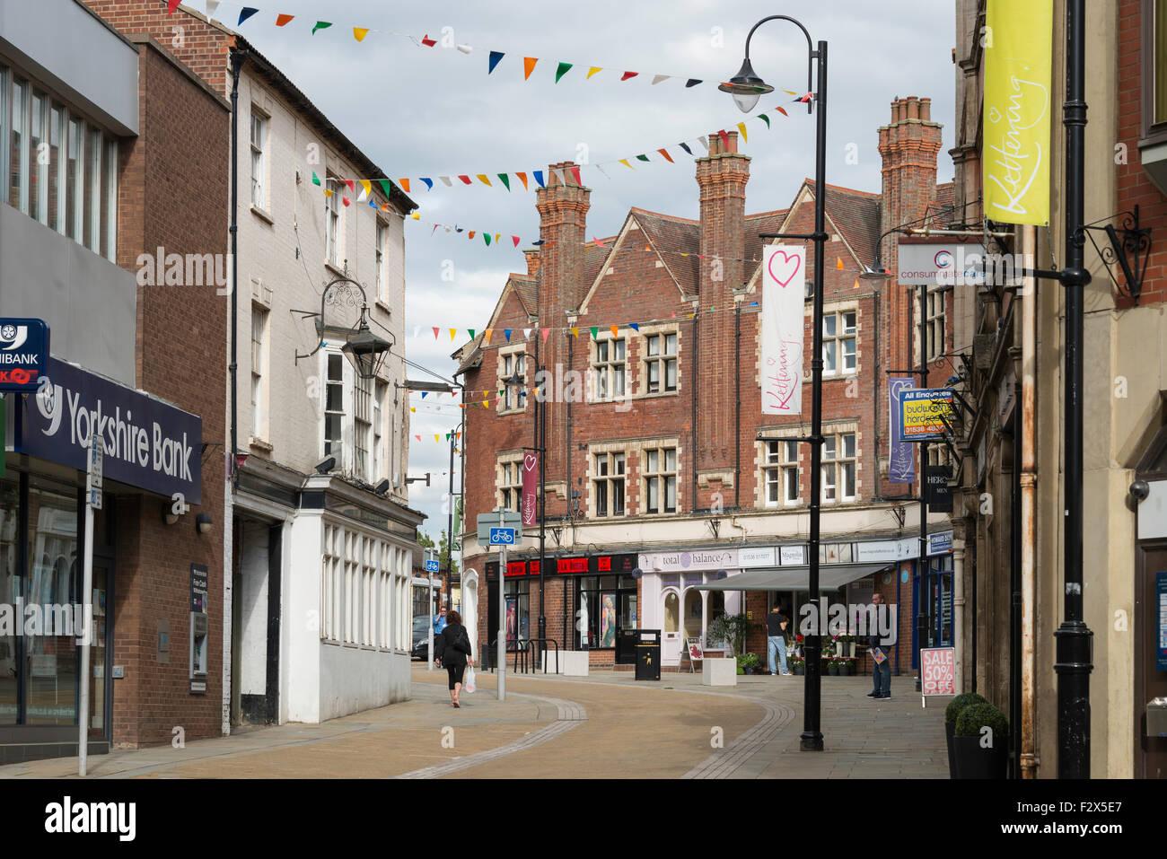 kettering, northamptonshire, england stock photo, royalty free