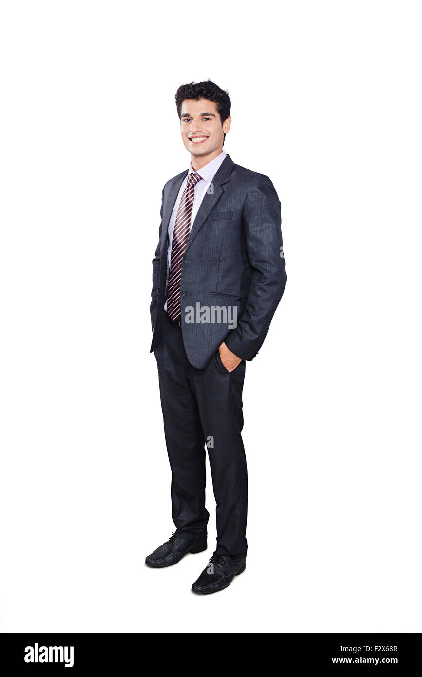 1 indian Business man Standing pose Stock Photo, Royalty ...
