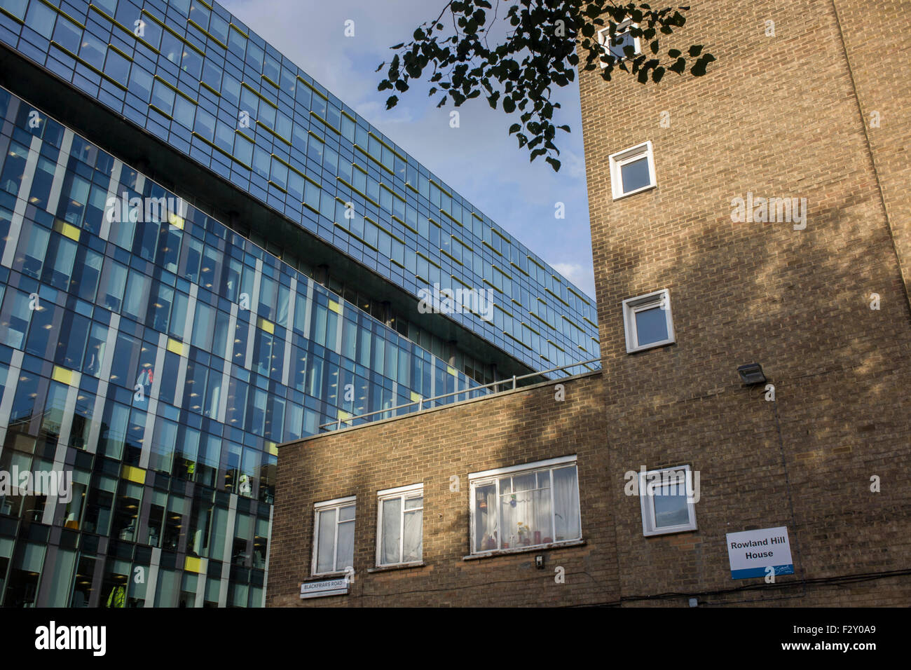 1960s architecture of rowland hill house in southwark with for Architecture 1960