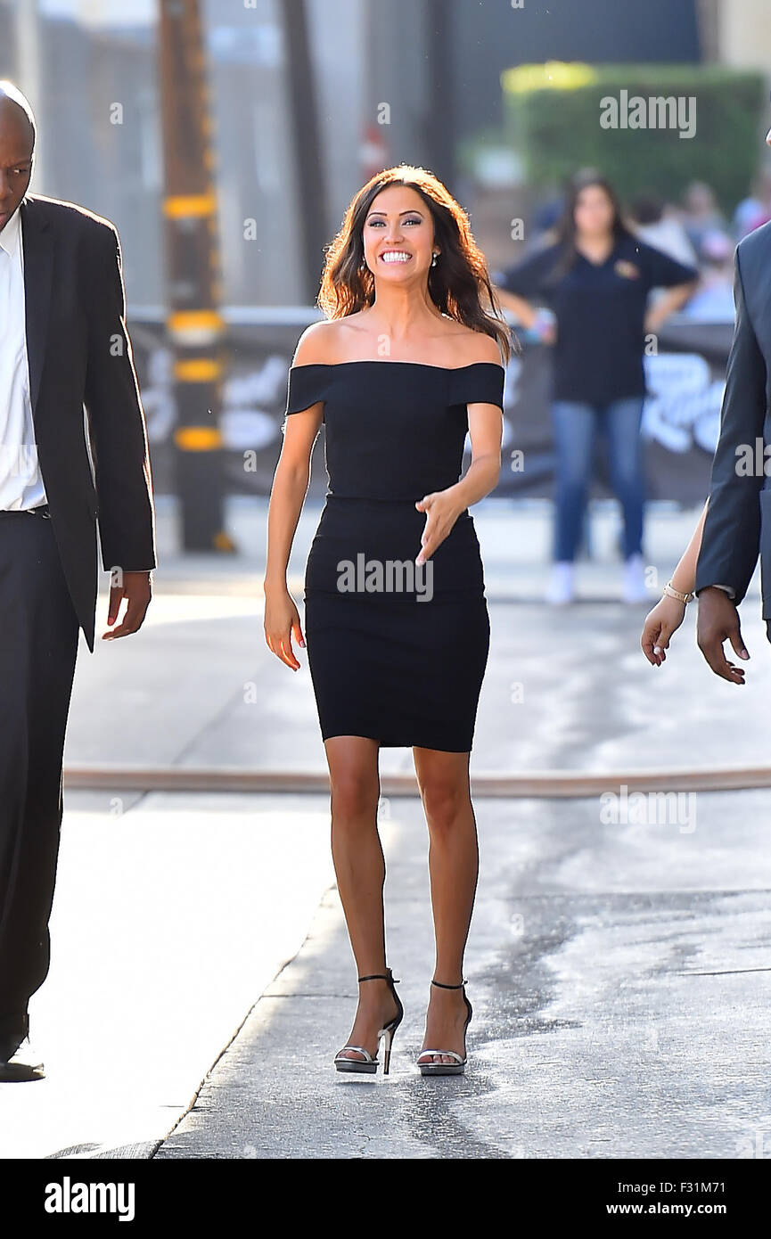 Bachelorette Kaitlyn Bristowe Arrives At Jimmy Kimmel Is All Smiles Featuring Where Los Angeles California United States When 28 Jul