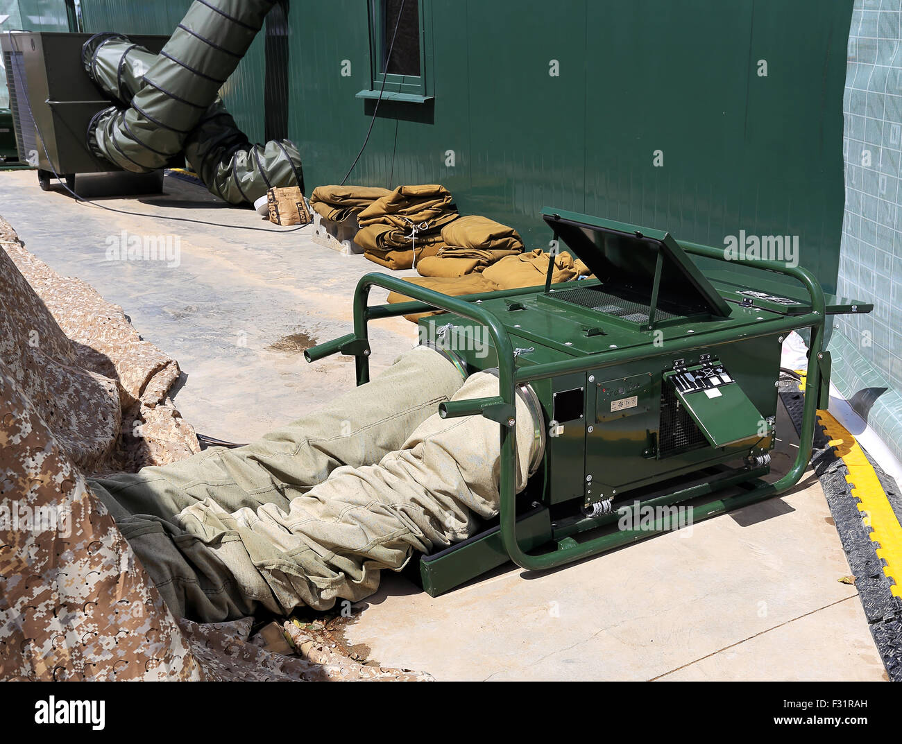 Field heating system for the army medical aid station in a tent & Field heating system for the army medical aid station in a tent ...