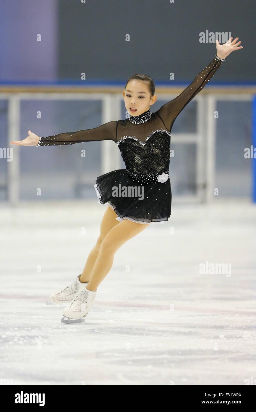 saaya suzuki 67p Saya Suzuki, SEPTEMBER 26, 2015 - Figure Skating : Chubu Figure Skating Championship 2015, Junior Womens Short Program at Morikoro park Skating rink, ...