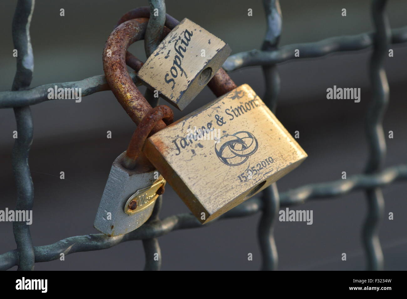 Cologne germany september 25 2015 locks with messages of cologne germany september 25 2015 locks with messages of lovers on hohenzollern bridge as a symbol of everlasting love biocorpaavc
