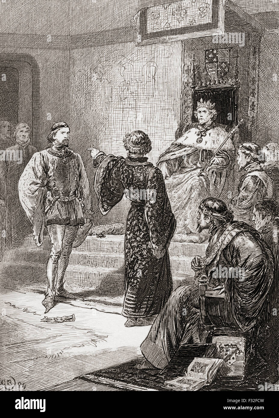 an analysis of the character and actions of richard in the play richard ii Richard ii critical essays  in later scenes richard becomes a more sympathetic character  the play richard ii is one of shakespeare's history plays and,.