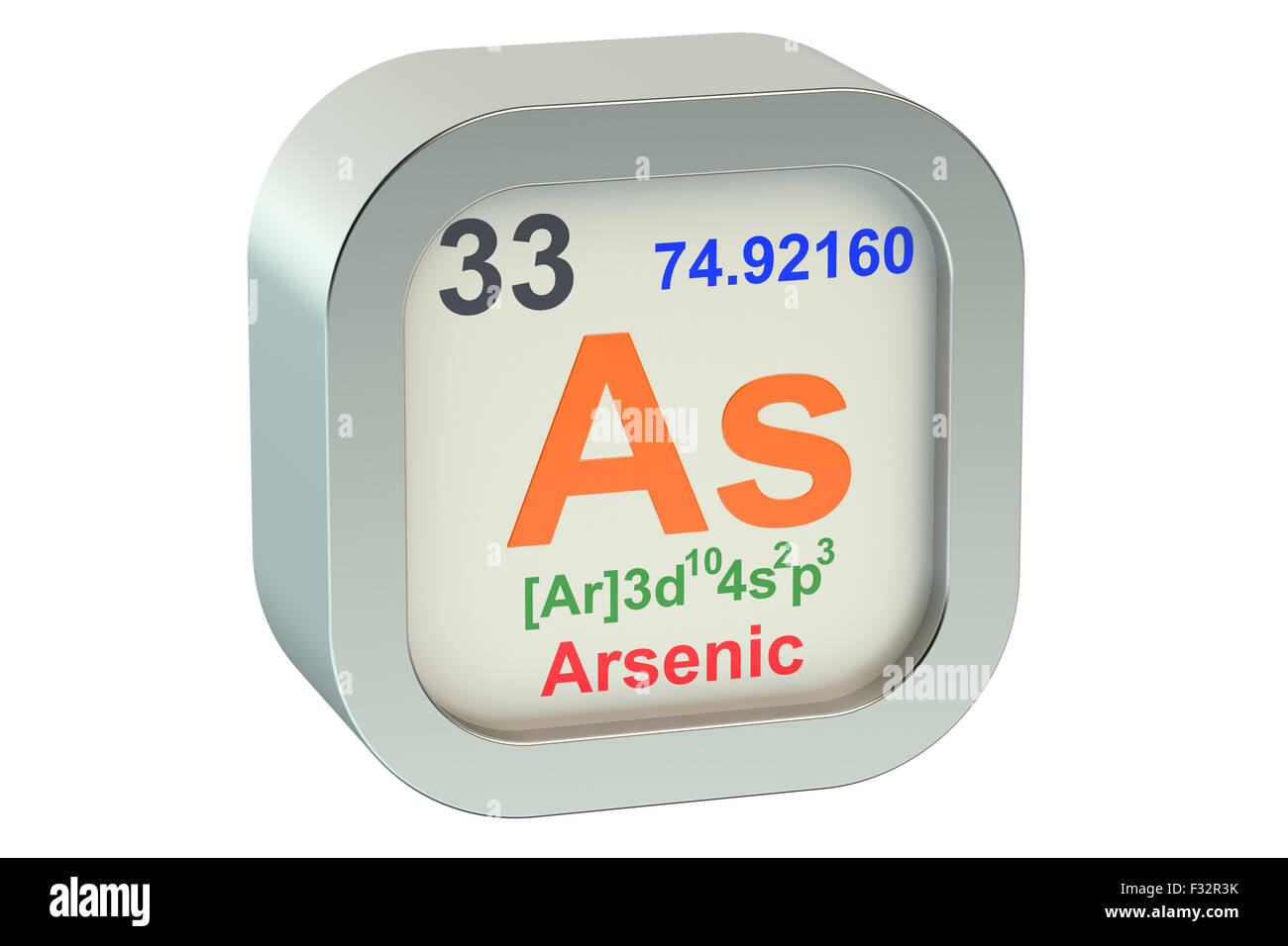 Arsenic element symbol isolated on white background stock photo arsenic element symbol isolated on white background biocorpaavc Image collections