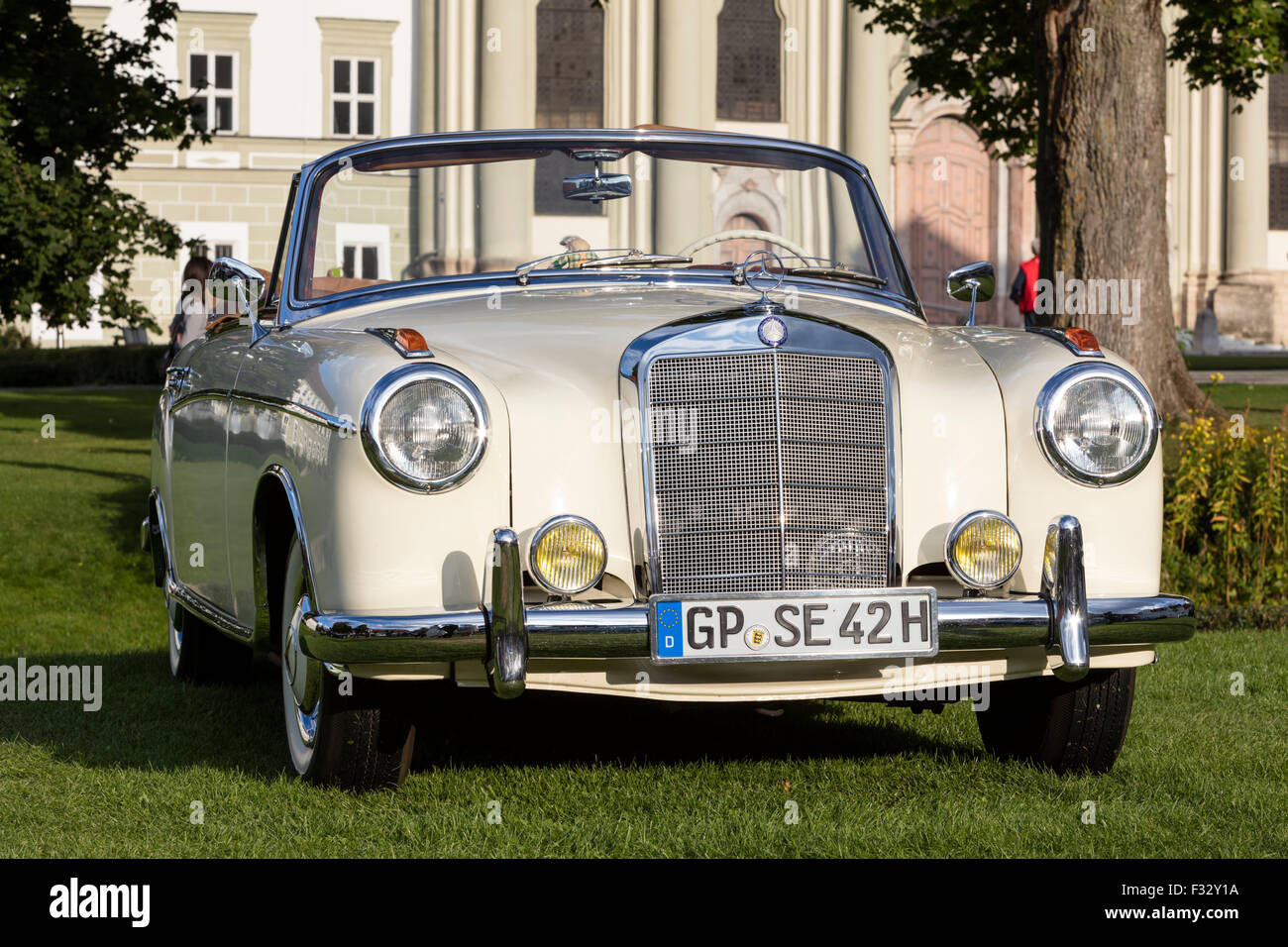 Mercedes Benz Vintage Car Stock Photo Royalty Free Image