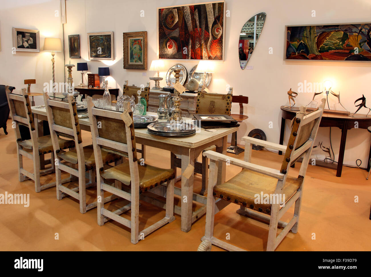 Limed Oak Dining Table And Chairs Shown By Jonathan Swire At The . Part 91