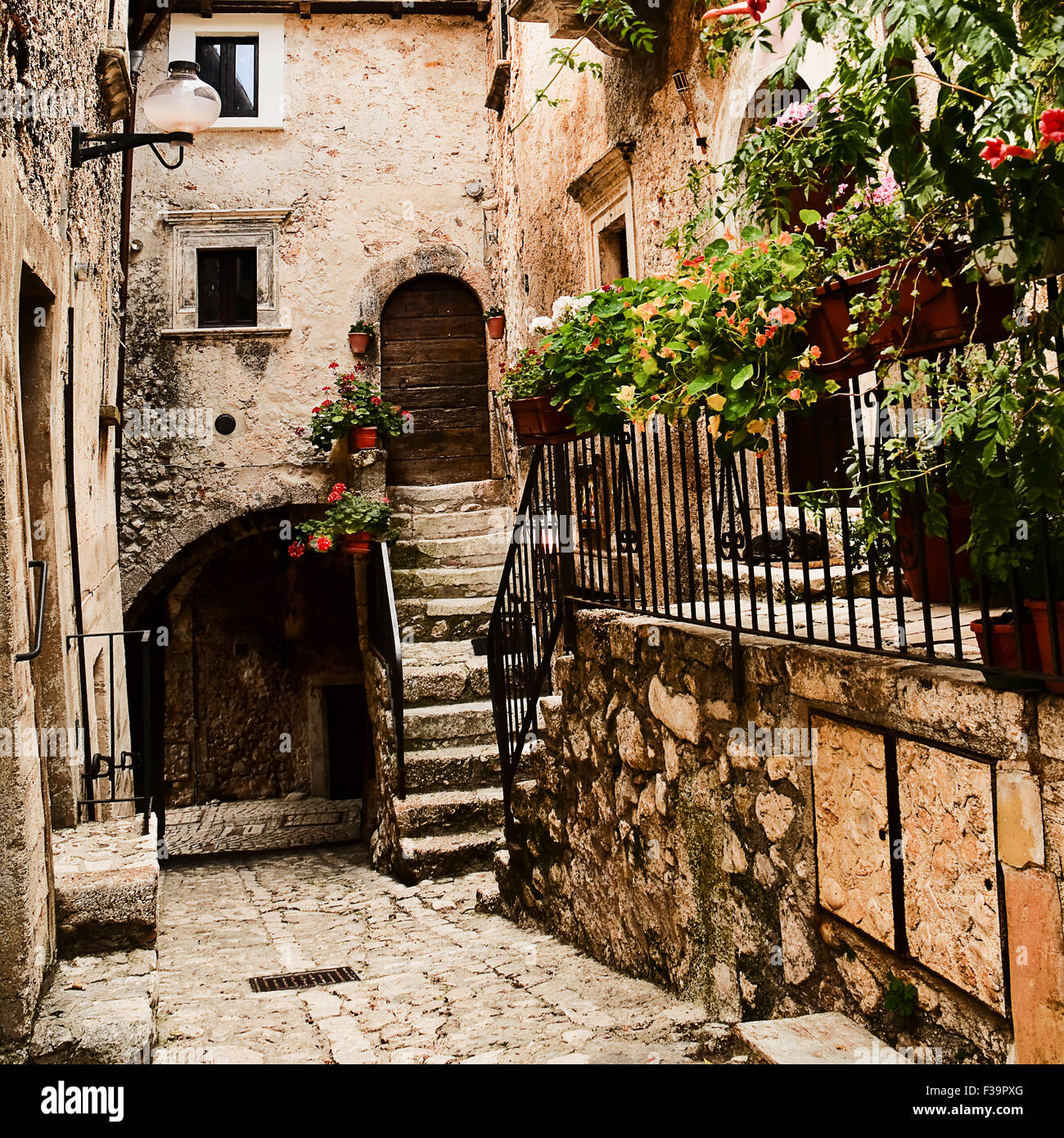 Santo Stefano di Sessanio Italy  city photos : Santo Stefano Di Sessanio, Famous Village In Italy Stock Photo ...