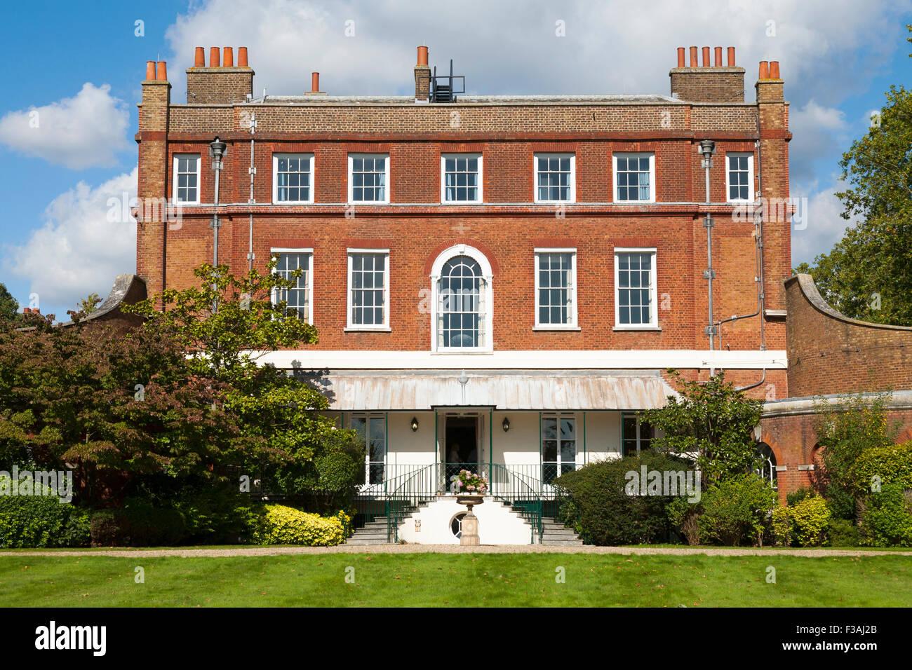 Bushy House South Facade Aspect Part Of The National Physical Laboratory NPL In Park Teddington UK