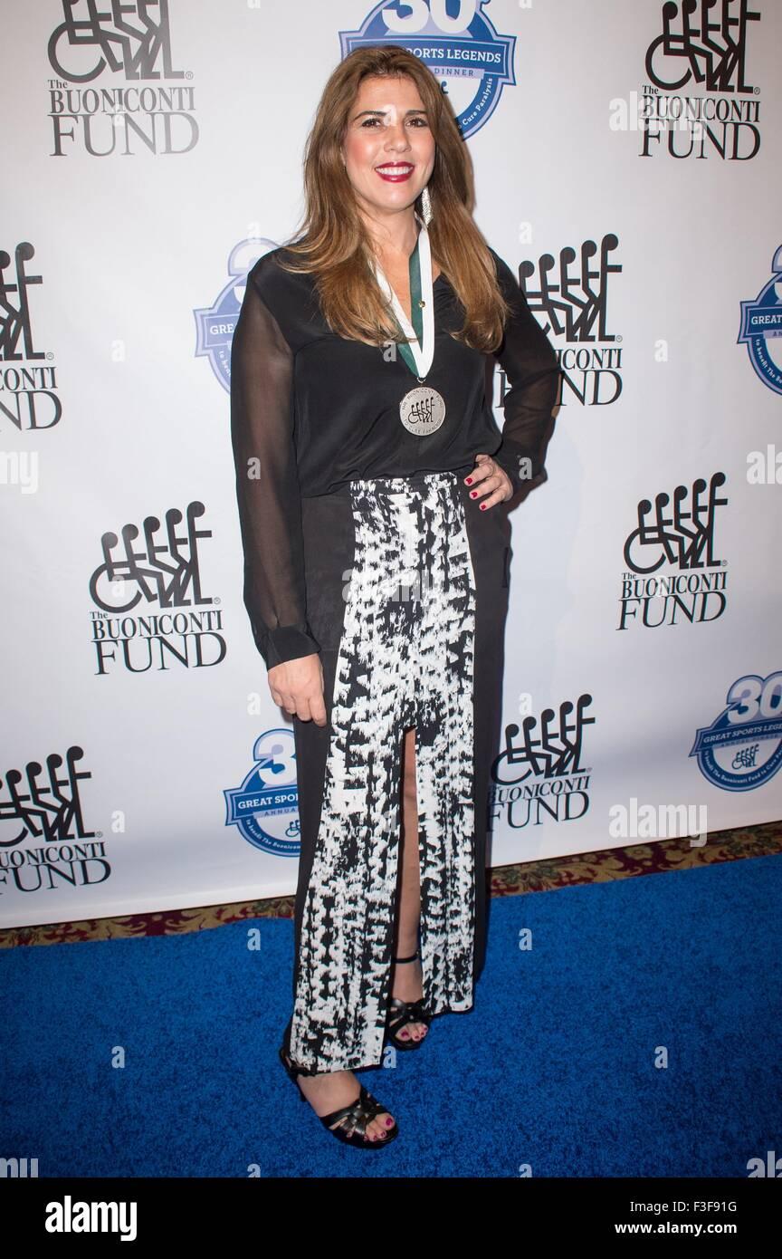 New York NY USA 6th Oct 2015 Jennifer Capriati at arrivals