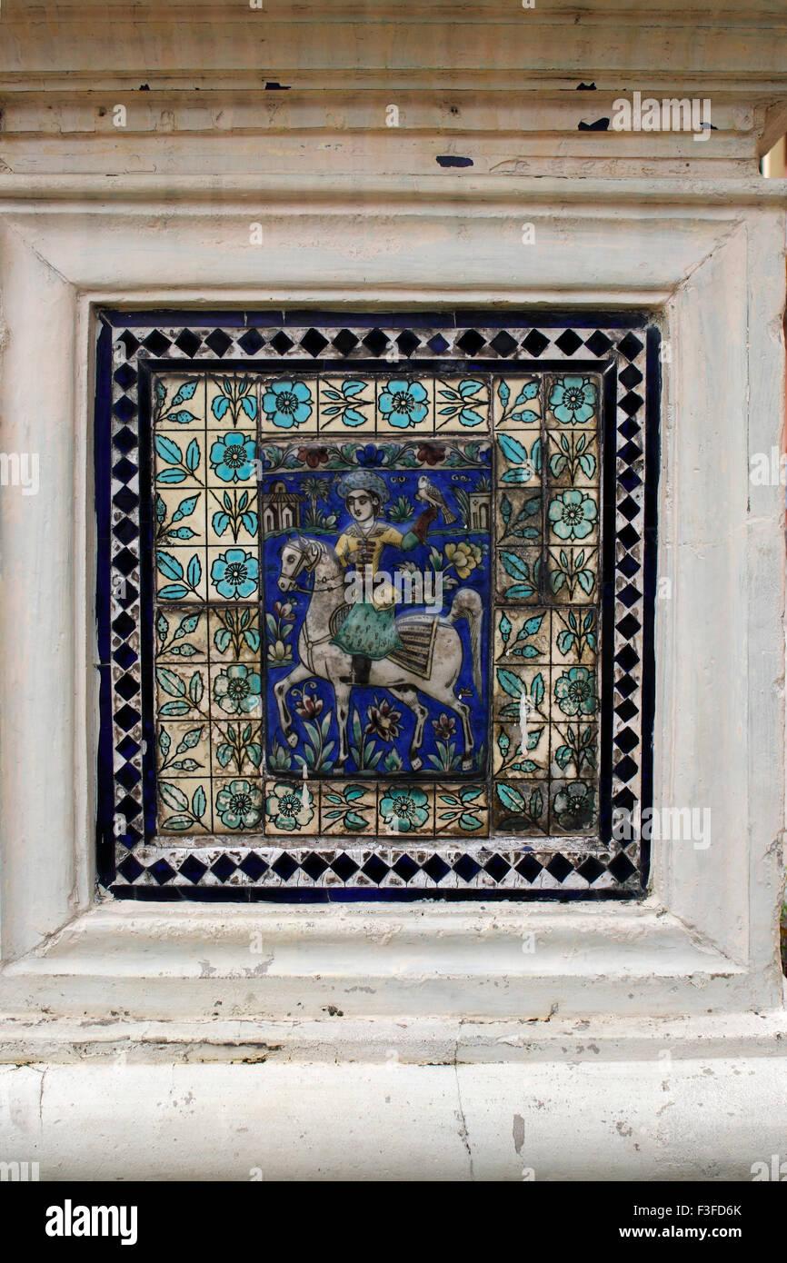 Decorative glazed tile ceramic tiles parshwanath parasnath jain decorative glazed tile ceramic tiles parshwanath parasnath jain jainism temple temples calcutta kolkatta west bengal india indian dailygadgetfo Choice Image