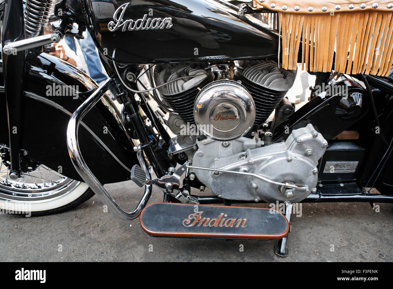 Vintage Indian Bike Stock Photo Royalty Free Image 88236671 Alamy