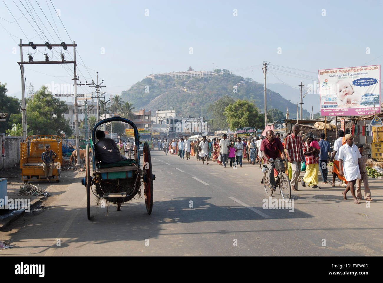 Palani Hill Temple Situated At An Elevation Of Feet Above Sea - Elevation in feet above sea level