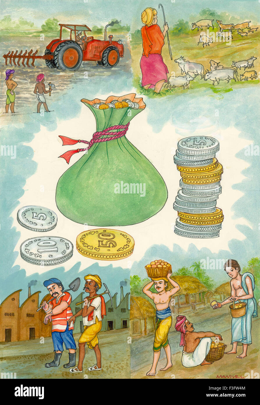 Artist Manivelu Hindu Belief Hindu Stock Photos & Artist Manivelu ...