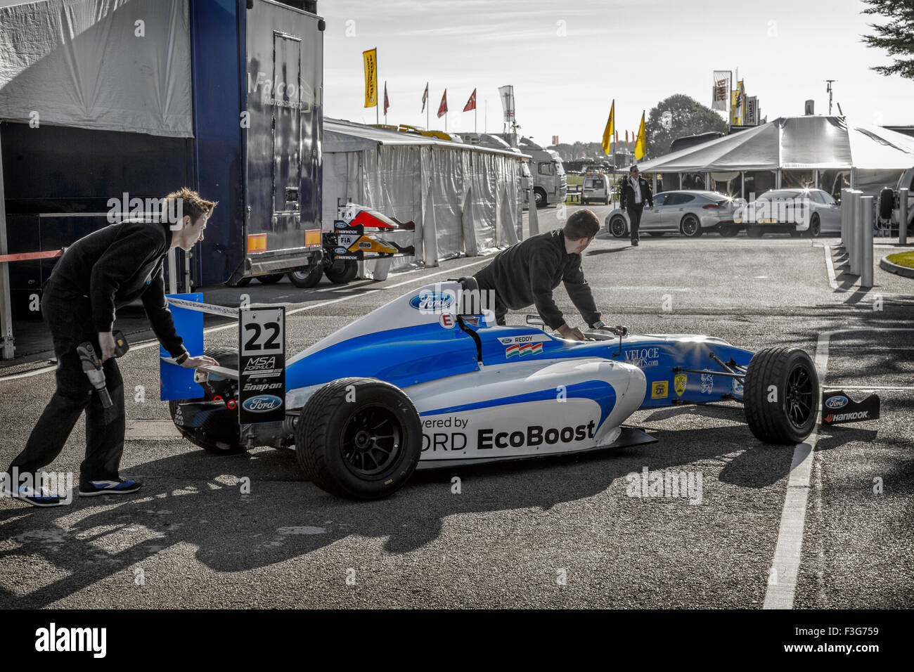 Tarun Reddy S Msa Formula Ford Single Seater Is Taken To
