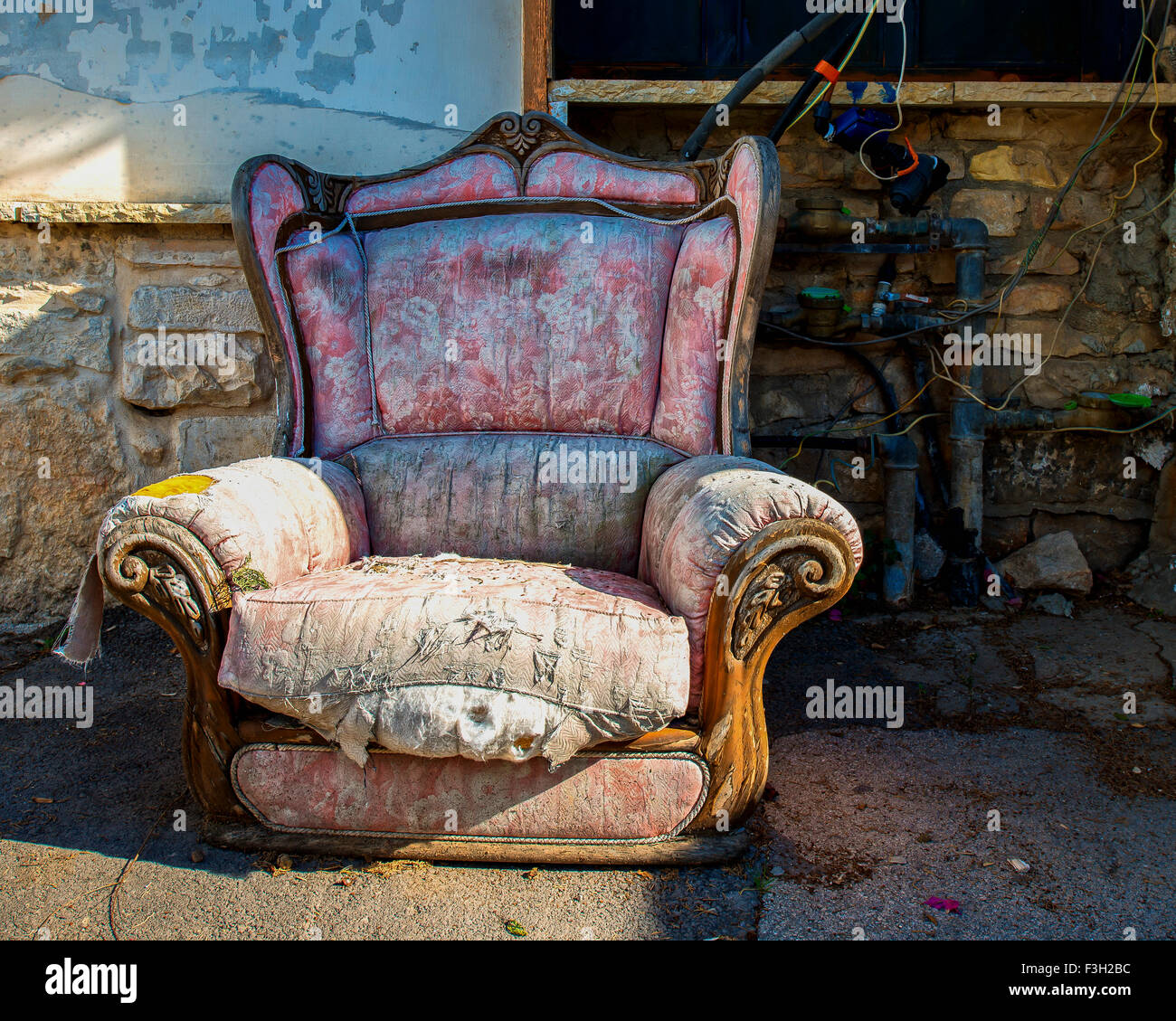 Old armchair Stock Photo, Royalty Free Image: 88270880 - Alamy