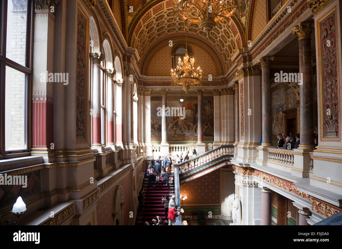 Open house day at foreign commonwealth office the grand staircase stock photo royalty free - British foreign commonwealth office ...