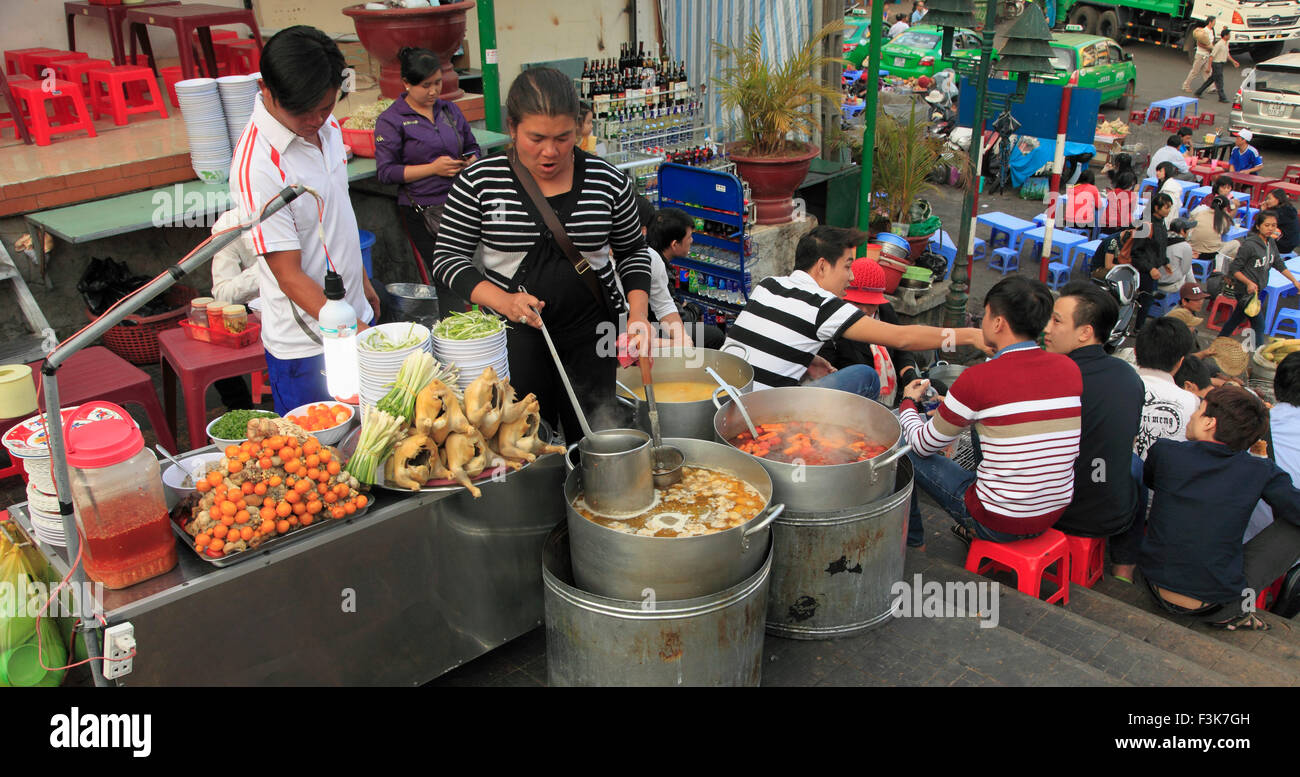 vietnam dalat street food stall people stock photo royalty free image 88318849 alamy. Black Bedroom Furniture Sets. Home Design Ideas
