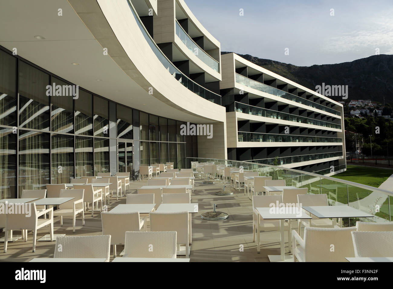Balconies at the sheraton dubrovnik riviera hotel at mlini for Hotels with balconies