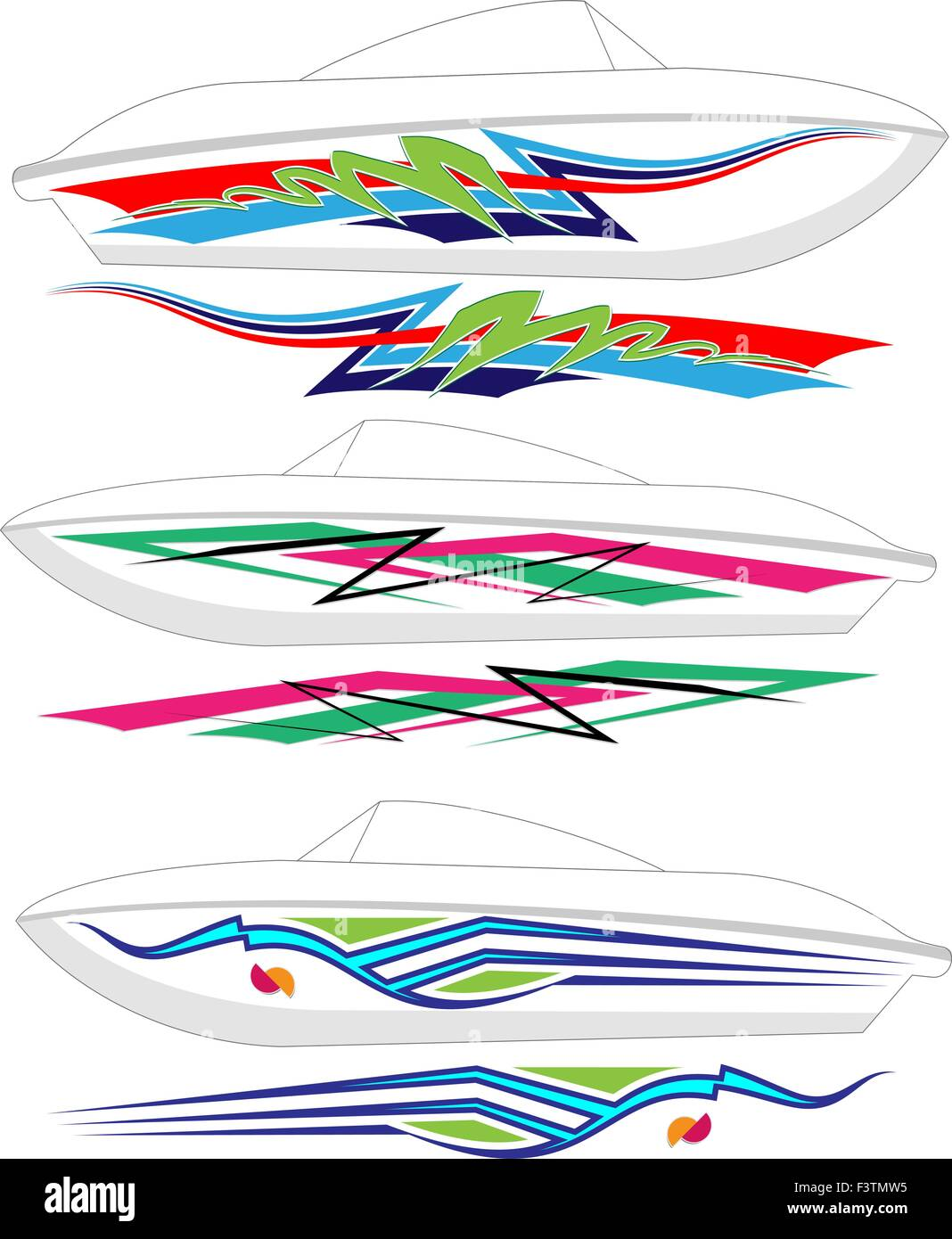 Bass Boat Graphic Design Layout