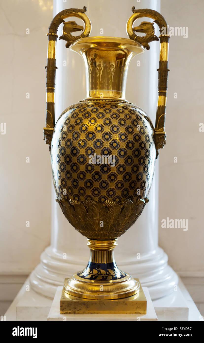 Vintage brass vase stock photo royalty free image 88498795 alamy vintage brass vase reviewsmspy