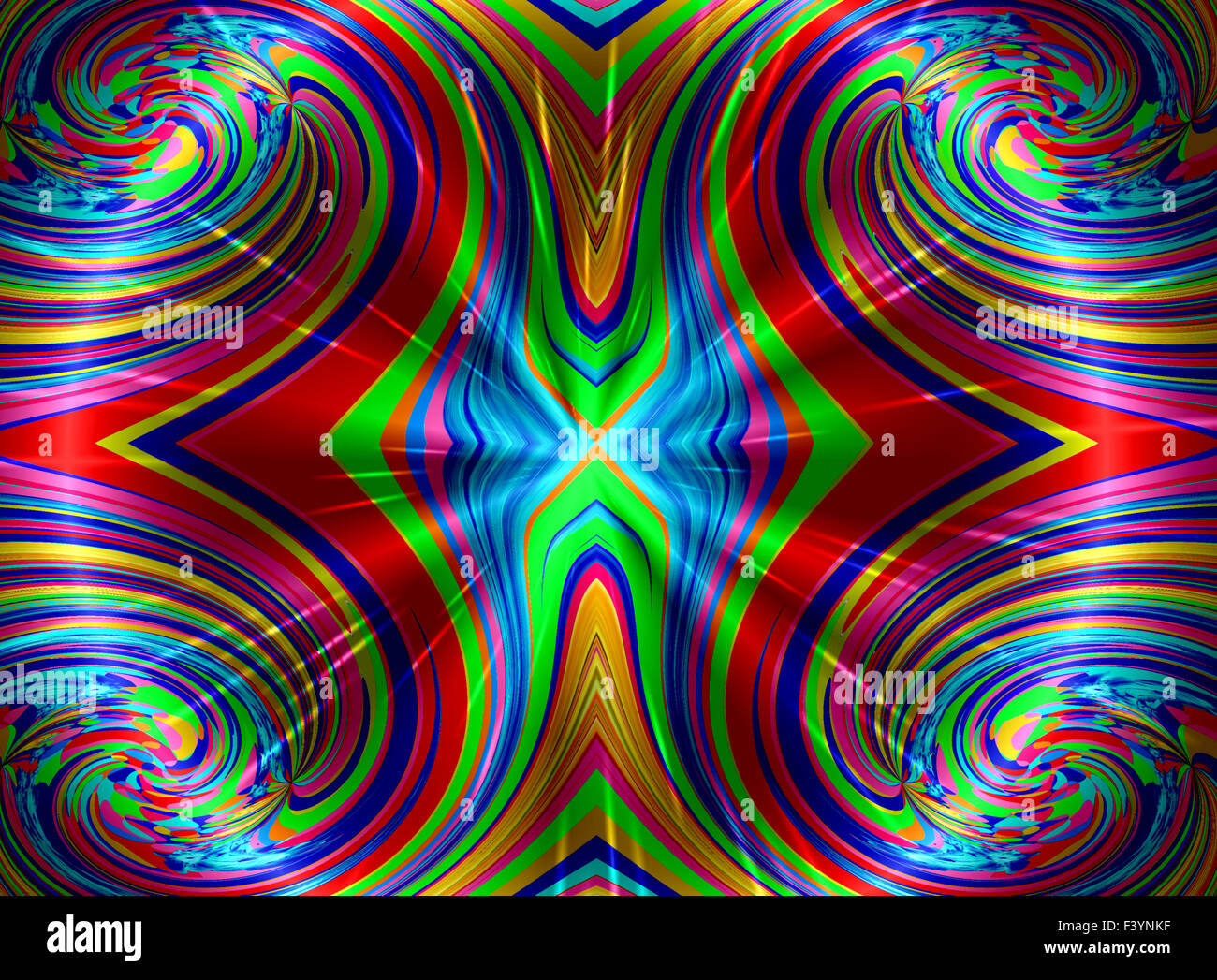 Color art kaleidoscope - Creative Background With A Wonderful Kaleidoscope Of Color Harmony A 0893
