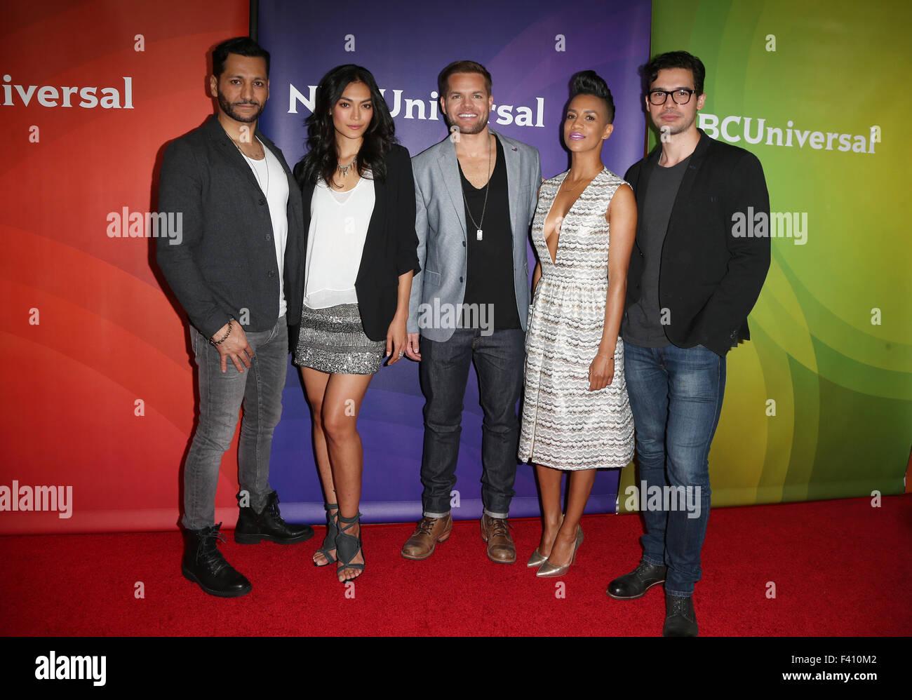 NBC Universal 2015 Summer Press Tour Featuring: Cas Anvar