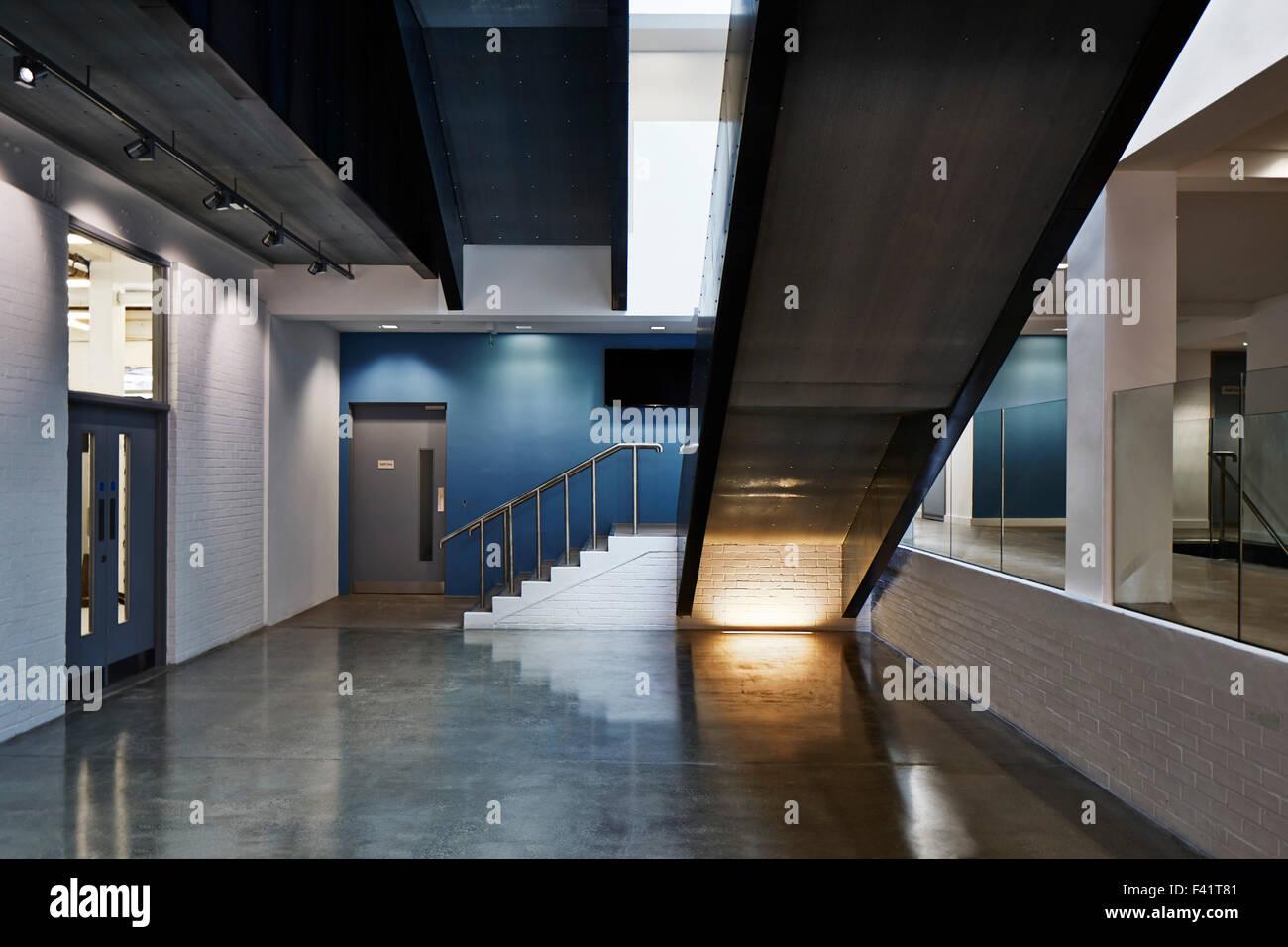 Foyer And Entryways University : Ground floor entrance hall guntons atrium nua norwich