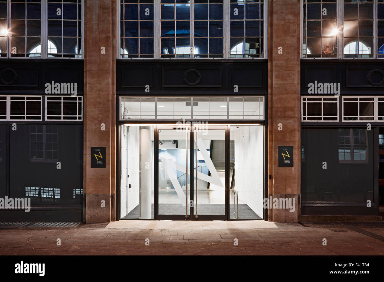 Entrance doors. Guntons Atrium - NUA Norwich University of the ...