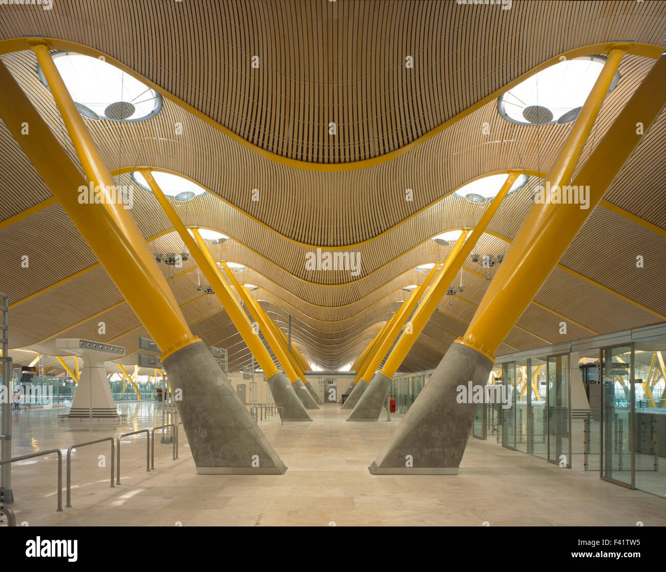 image gallery madrid airport architect