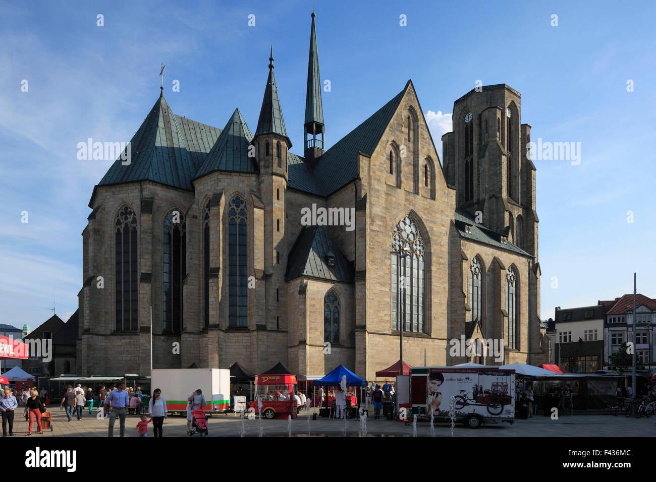 katholische propsteikirche sankt urbanus in gelsenkirchen buer stock photo royalty free image. Black Bedroom Furniture Sets. Home Design Ideas
