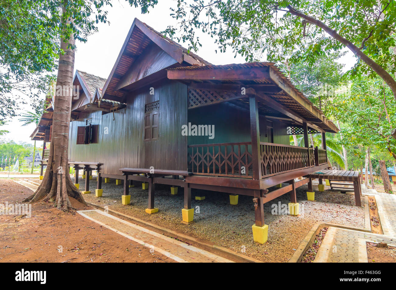 marvellous wooden house in malaysia philippines