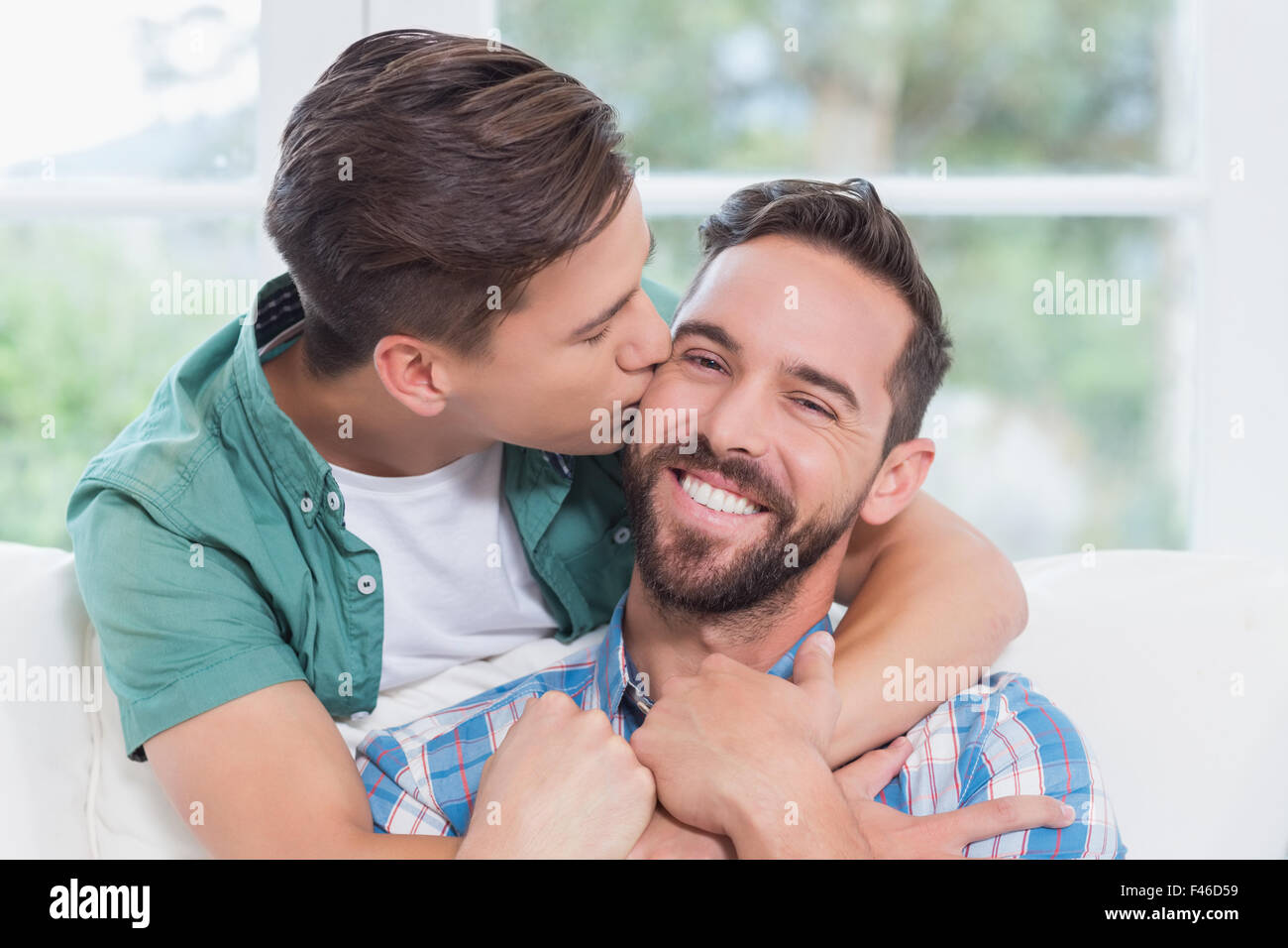 Male Cops Kissing Each Other Gay First Time