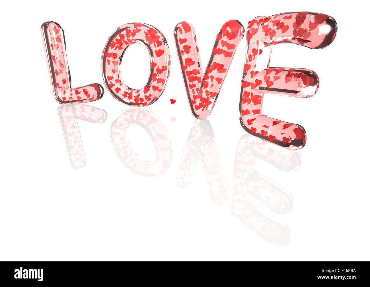 Word love made from hearts symbols stock photo royalty free image word love made from hearts symbols biocorpaavc