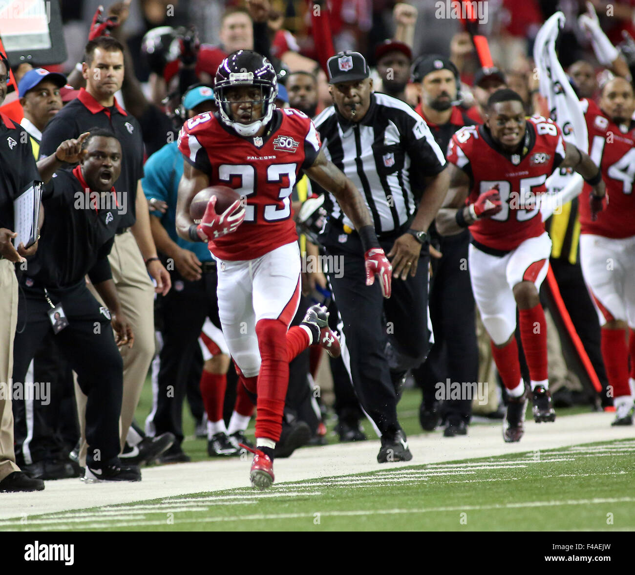 Overtime 11th Oct 2015 23 Robert Alford of the Atlanta Falcons