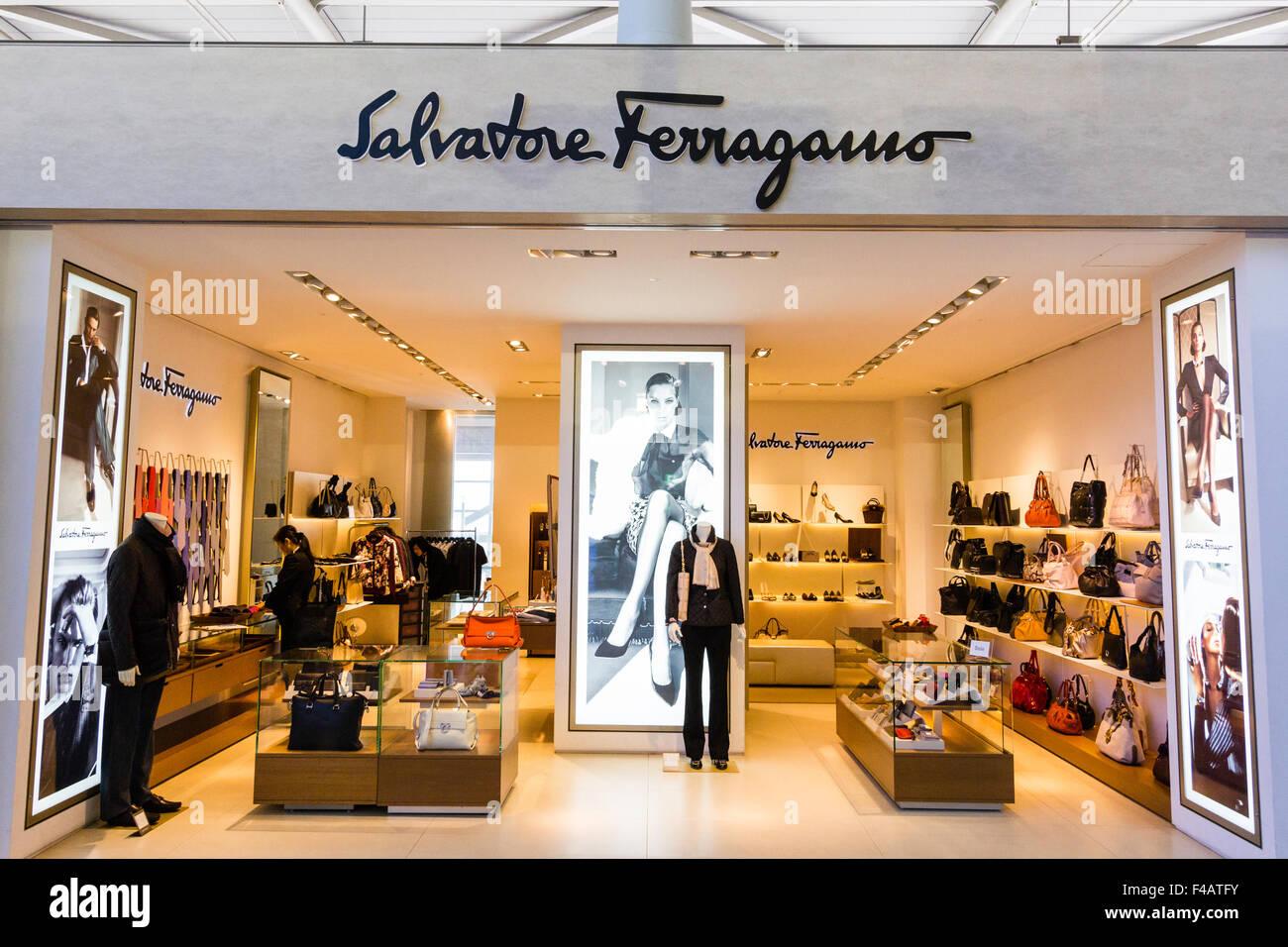 Salvatore Ferragamo Shoe Store