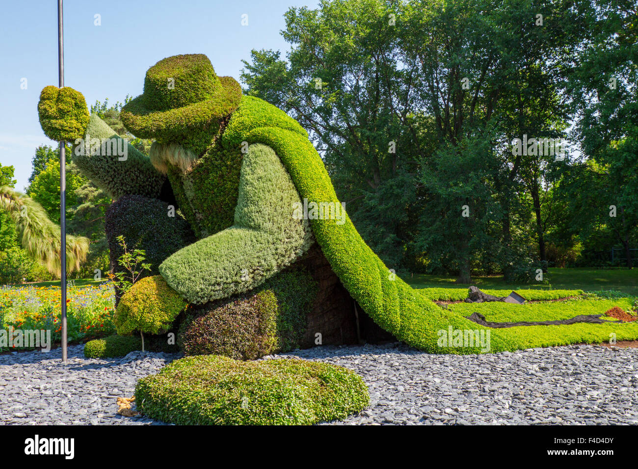canada montreal jardin botanique botanical garden mosaicultures stock photo royalty free. Black Bedroom Furniture Sets. Home Design Ideas
