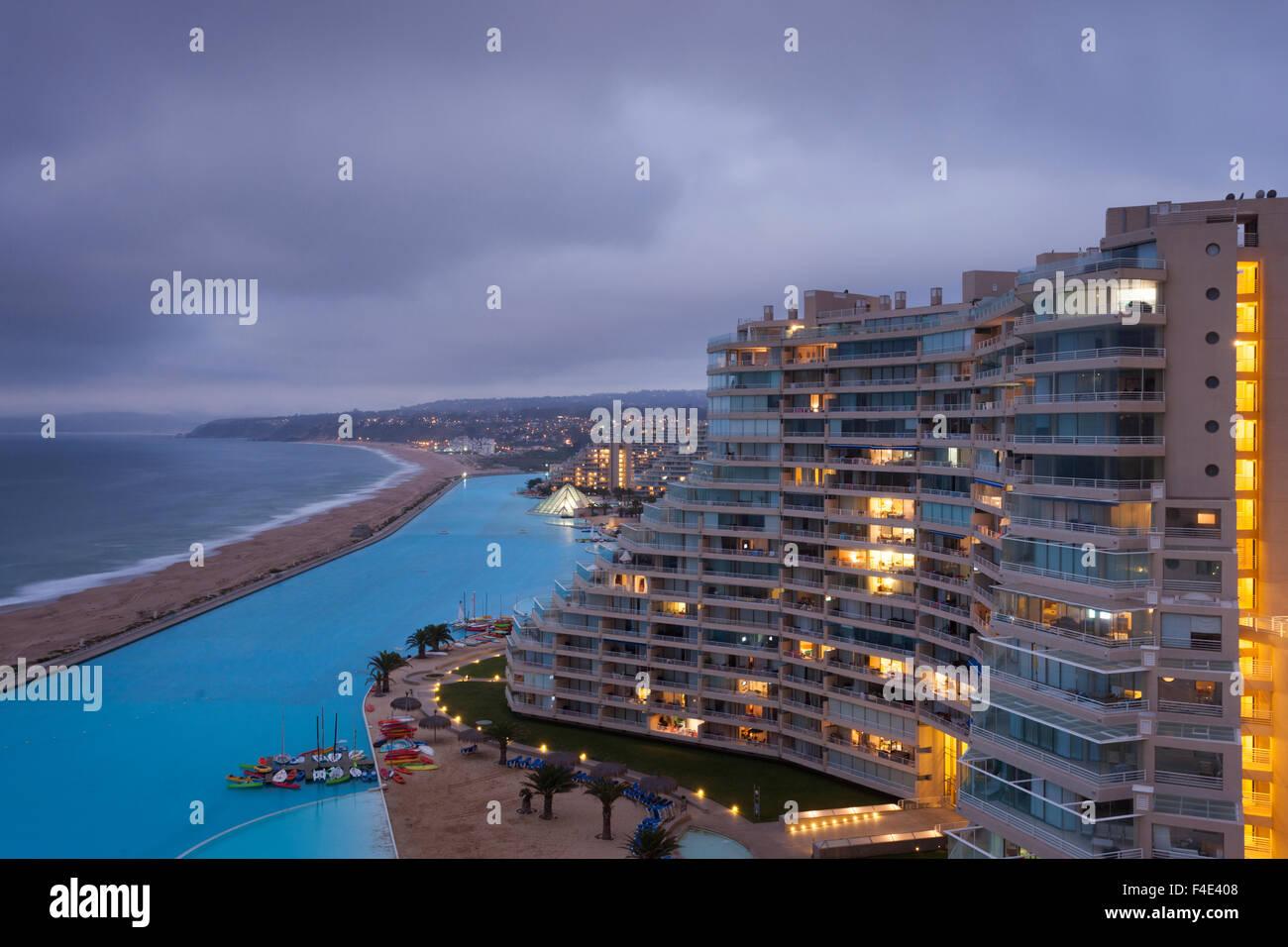 Algarrobo Chile Swimming Pool: Chile, Algarrobo. San Alfonso Del Mar Resort Has The World