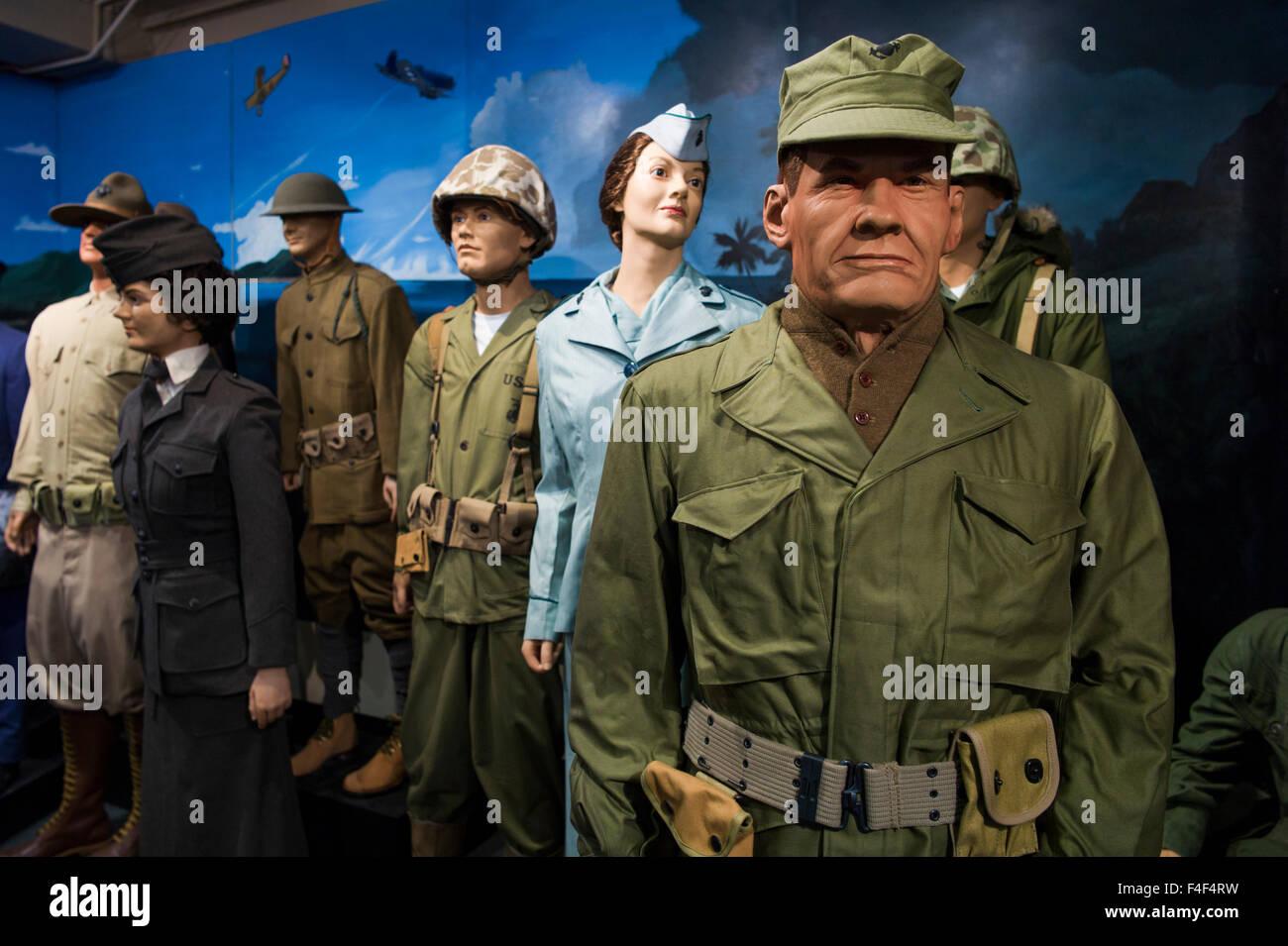 South Carolina, Parris Island USMC Base, US Marines Museum Parris ...