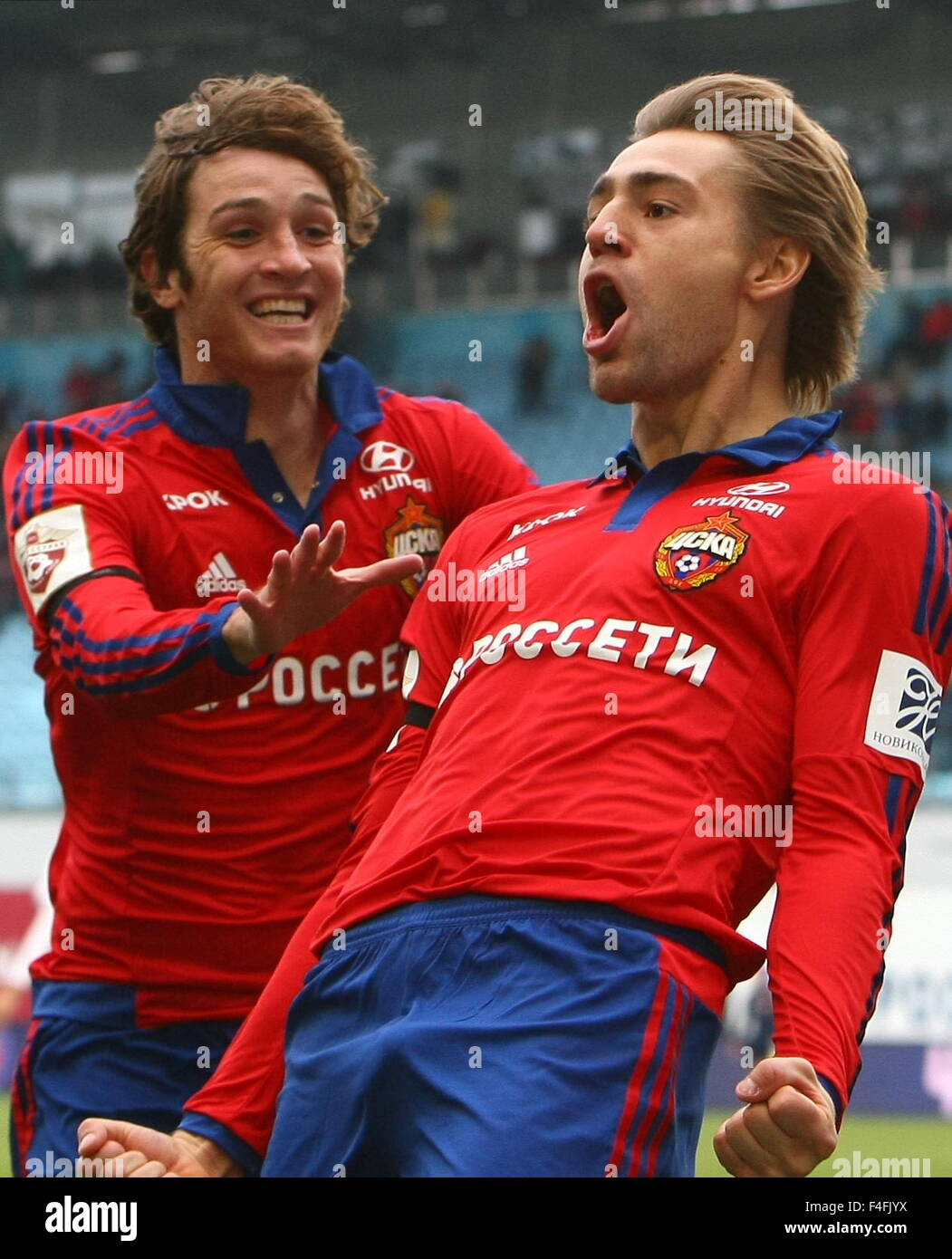 Melhor Aparador Corporal ~ Moscow Region, Russia 17th Oct, 2015 CSKA's Mario Fernandes (L) and Stock Photo, Royalty Free