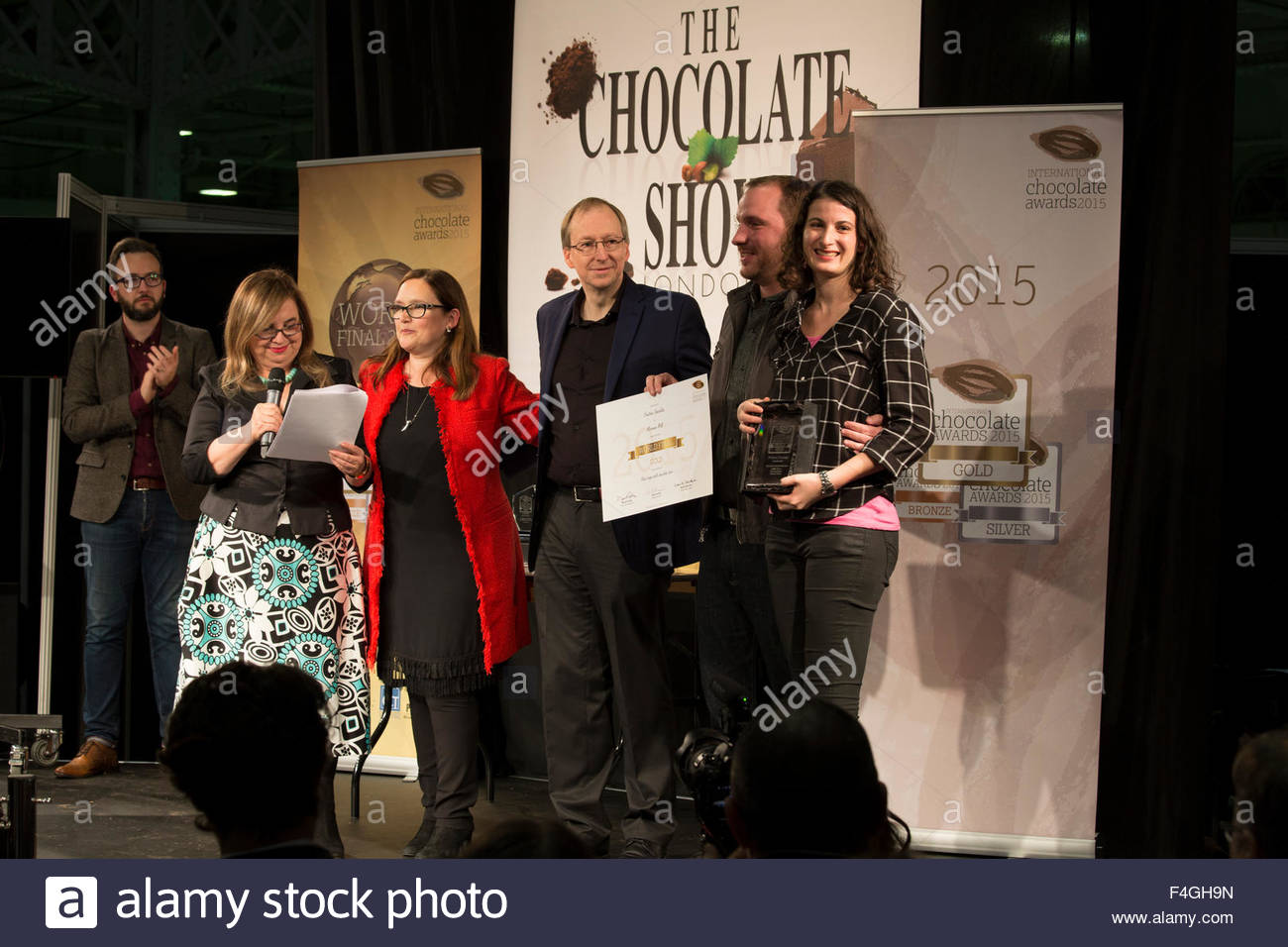 Olympia, London, UK. 18th October, 2015. The Chocolate Show ...